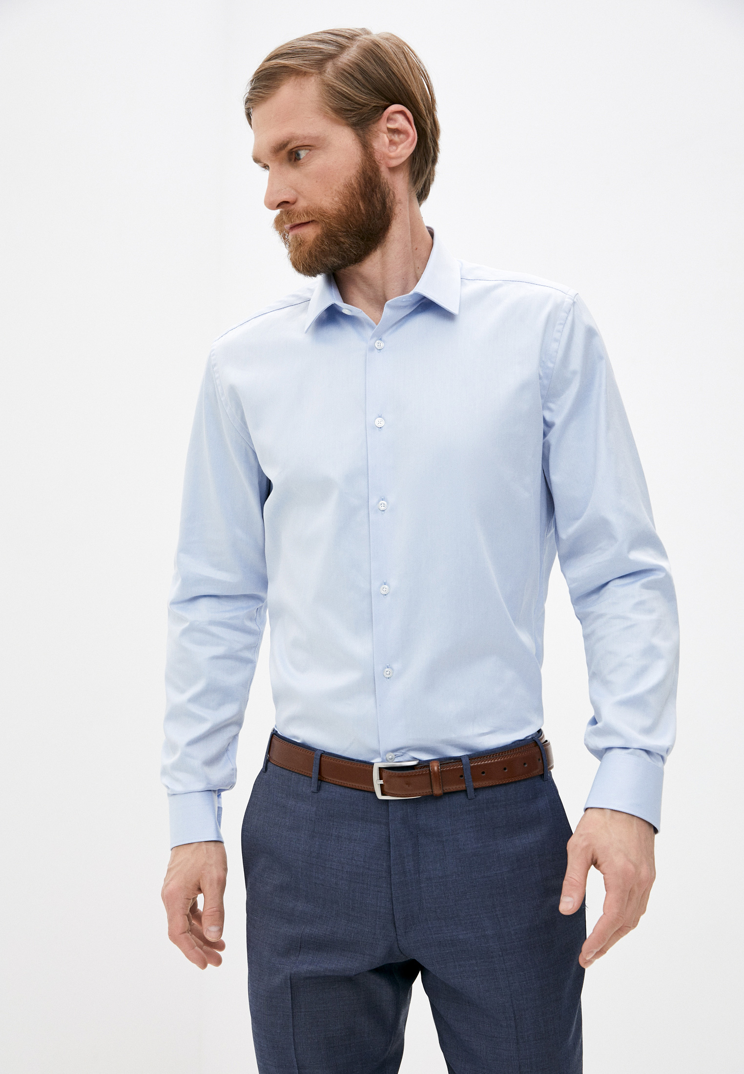 Рубашка с длинным рукавом CC Collection Corneliani 87px81-1161211: изображение 1