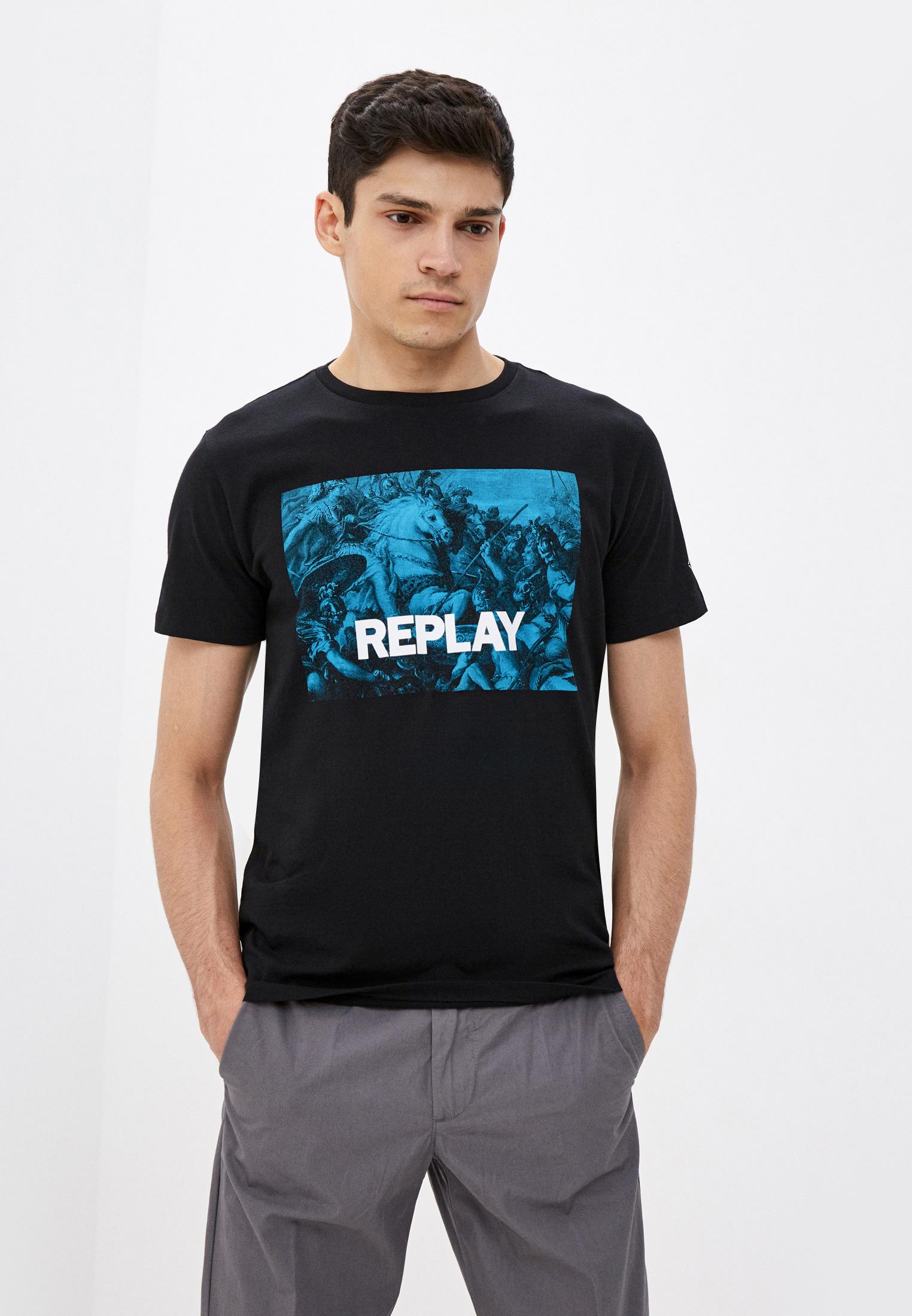 Футболка с коротким рукавом Replay (Реплей) M3412.000.2660
