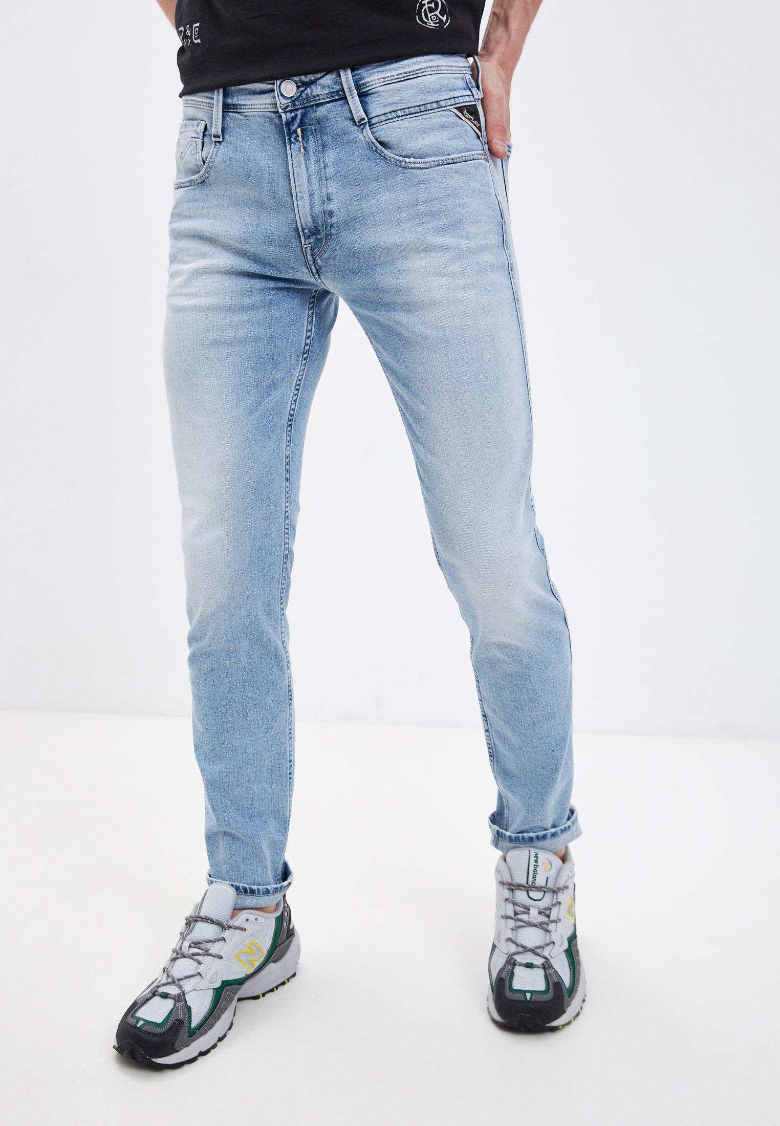 Зауженные джинсы Replay (Реплей) M914Y.000.573816