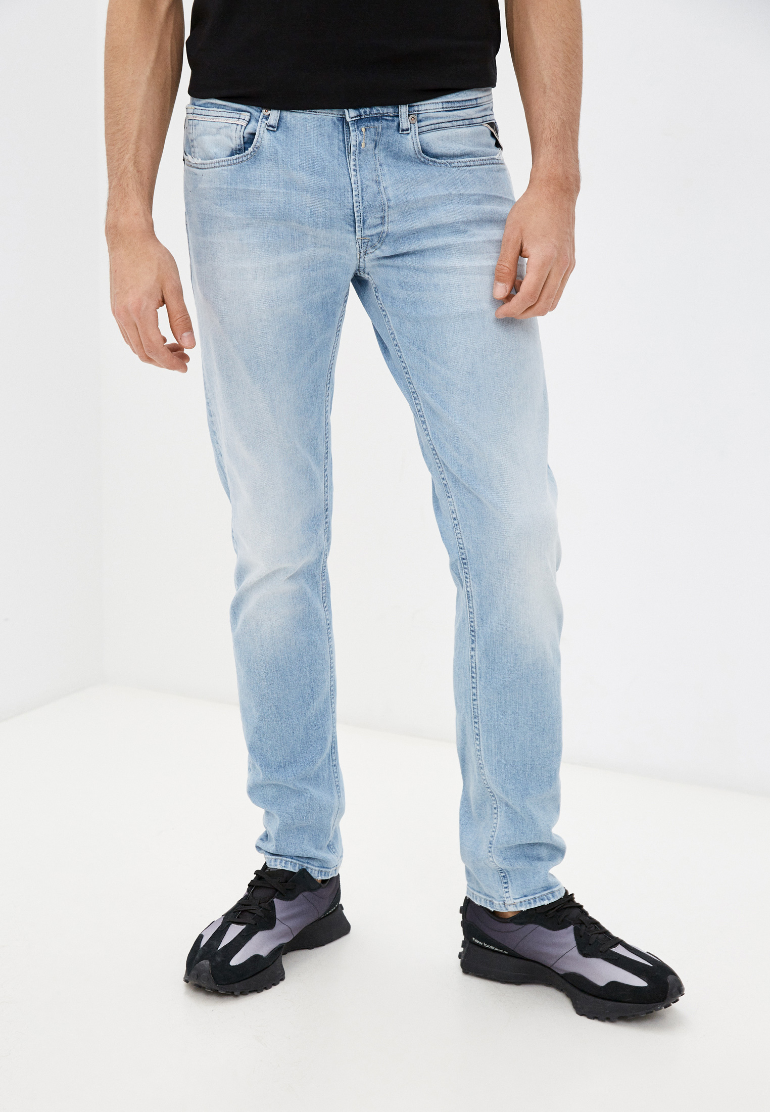 Зауженные джинсы Replay (Реплей) MA972.000.573816