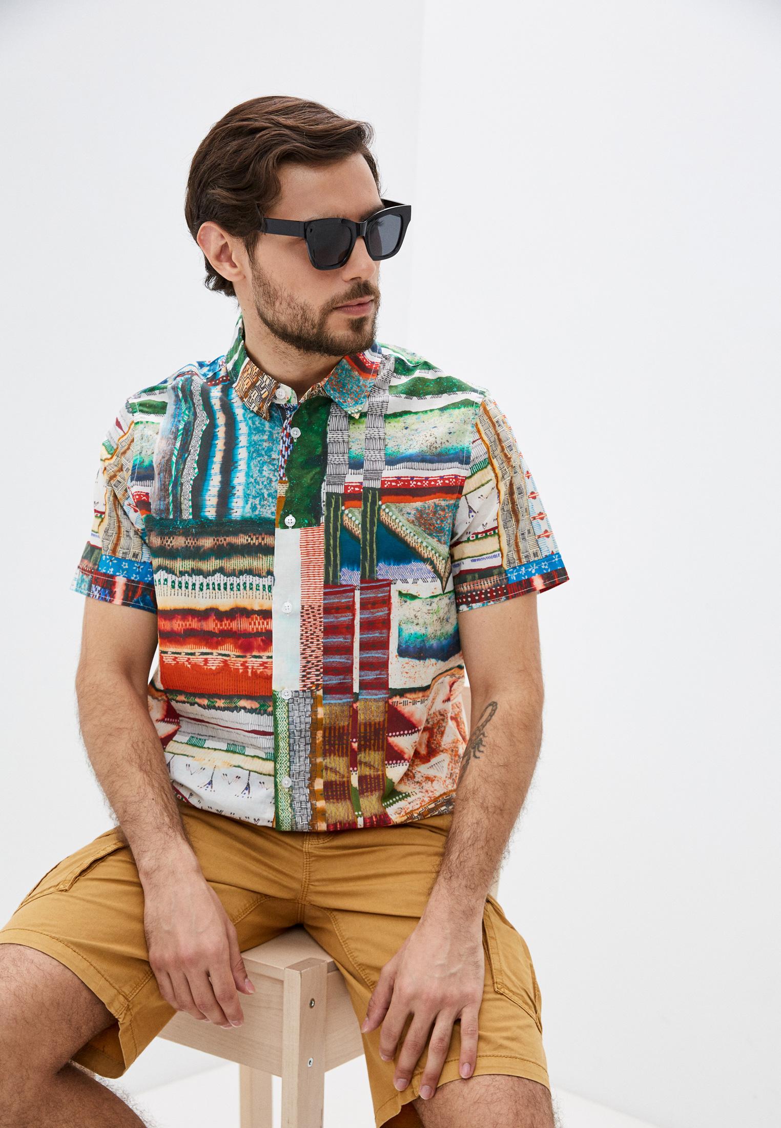 Рубашка с длинным рукавом Desigual (Дезигуаль) 21SMCW13