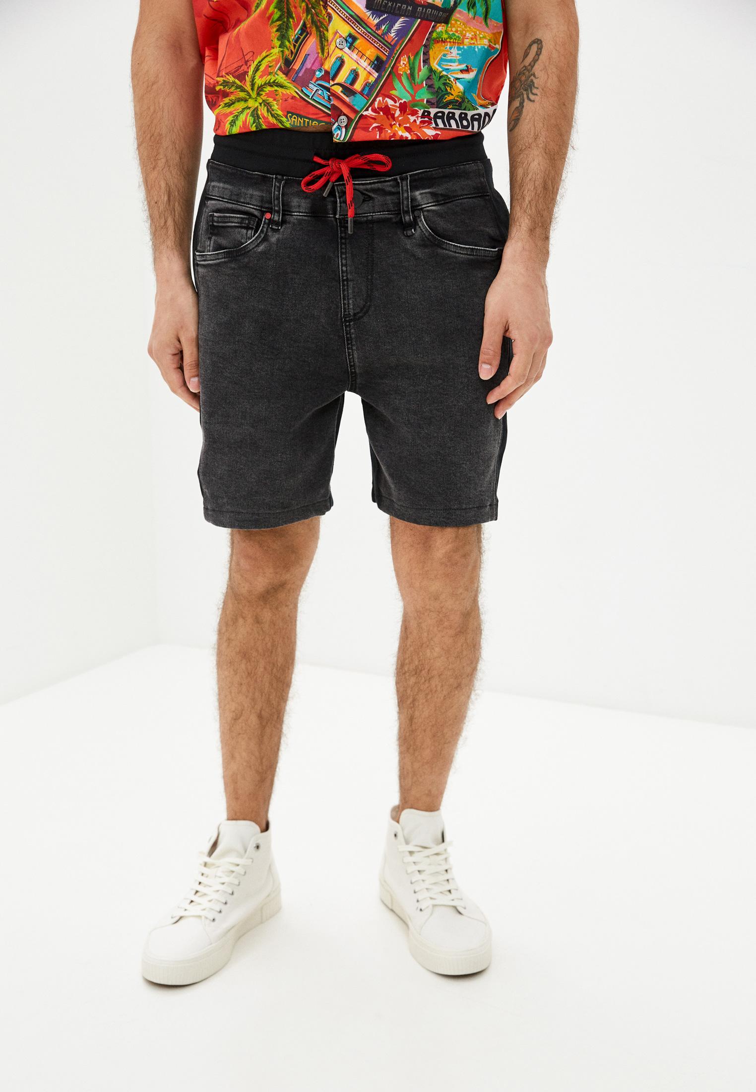 Мужские джинсовые шорты Desigual (Дезигуаль) 21SMDD07