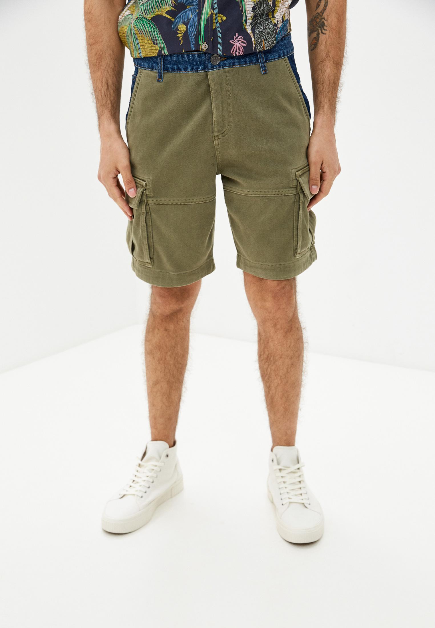 Мужские повседневные шорты Desigual (Дезигуаль) 21SMPK03