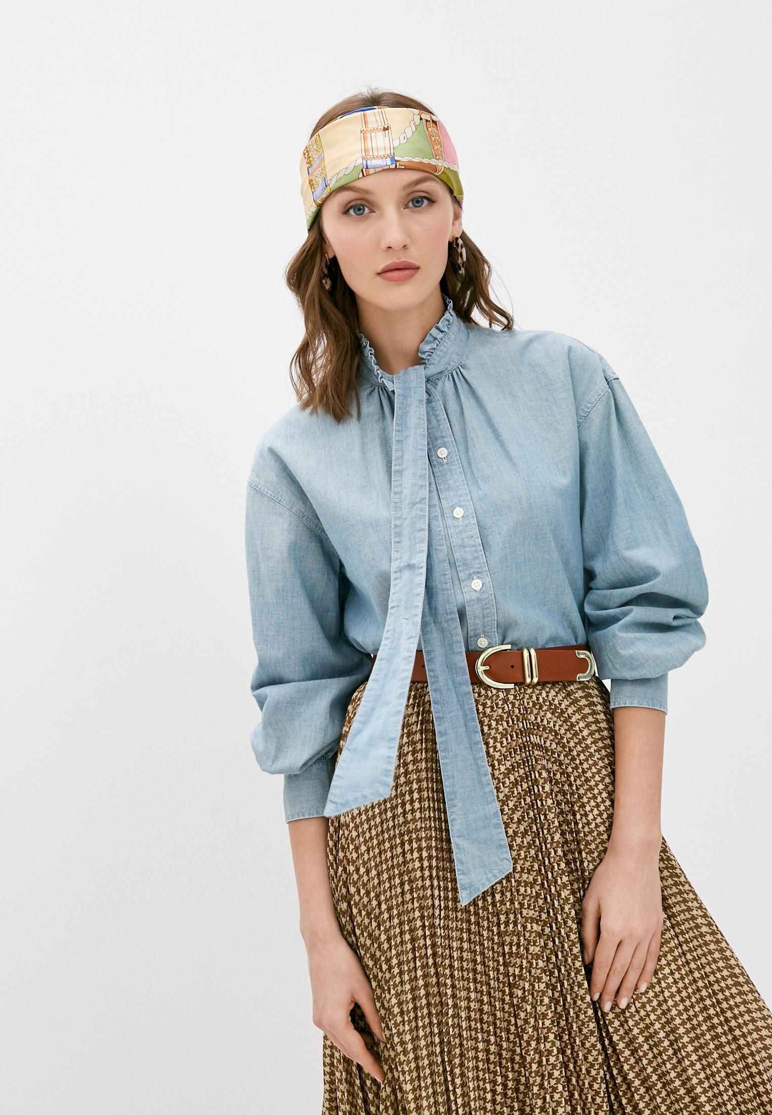 Женские джинсовые рубашки Lauren Ralph Lauren (Ральф Лорен) Рубашка джинсовая Lauren Ralph Lauren