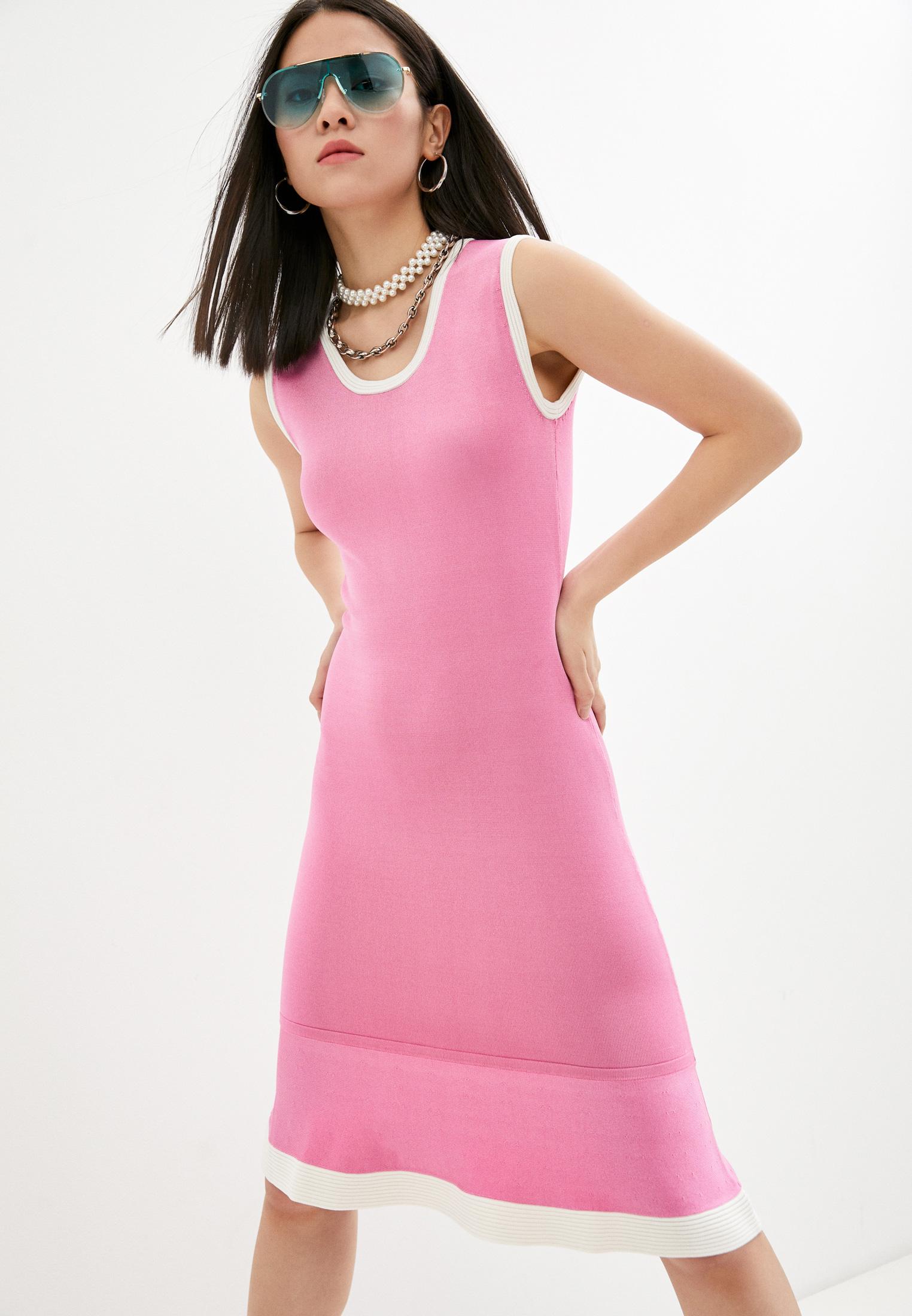 Вязаное платье Boutique Moschino A04981103