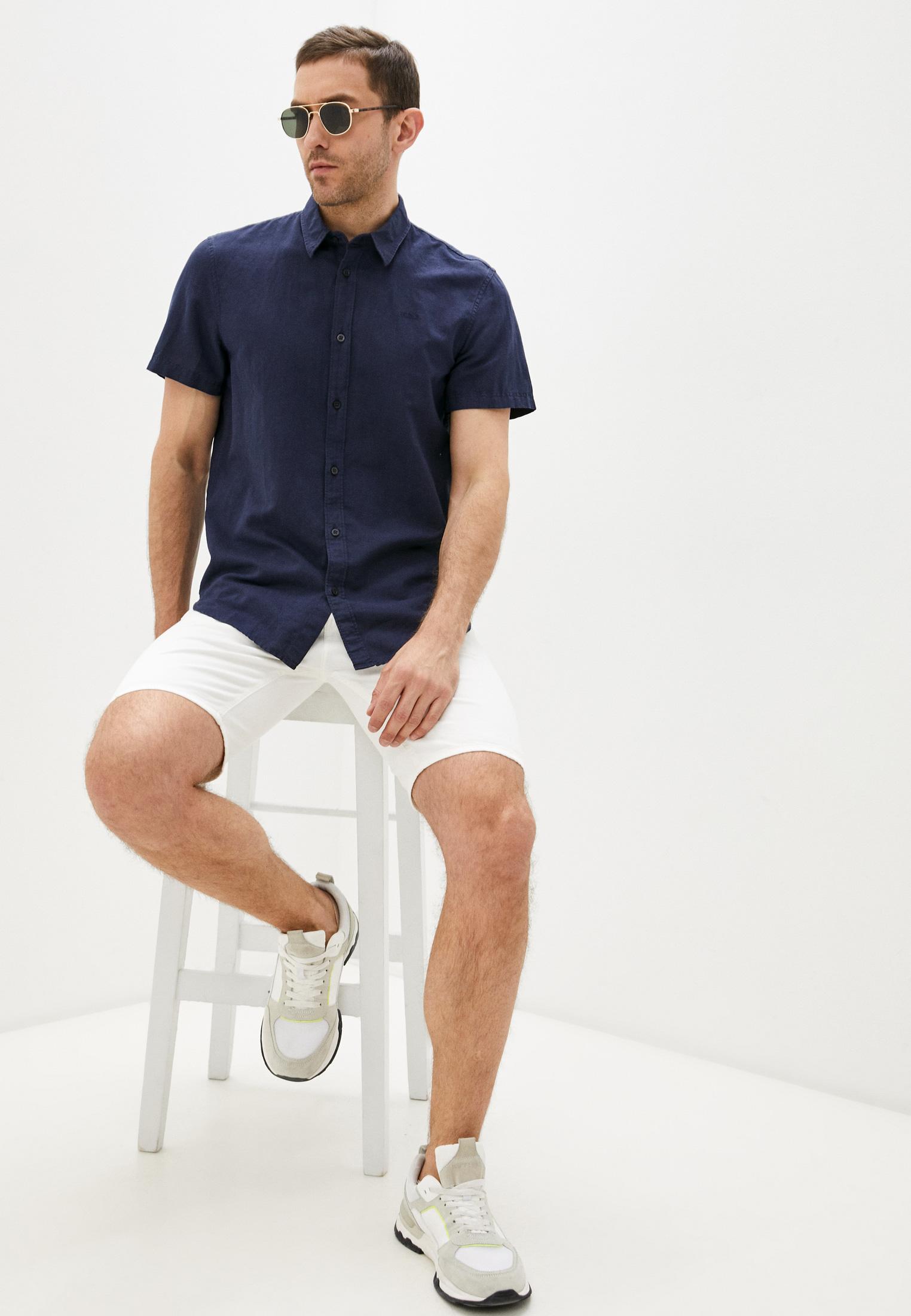 Рубашка с длинным рукавом Guess Jeans M1GH26 WDU11: изображение 2