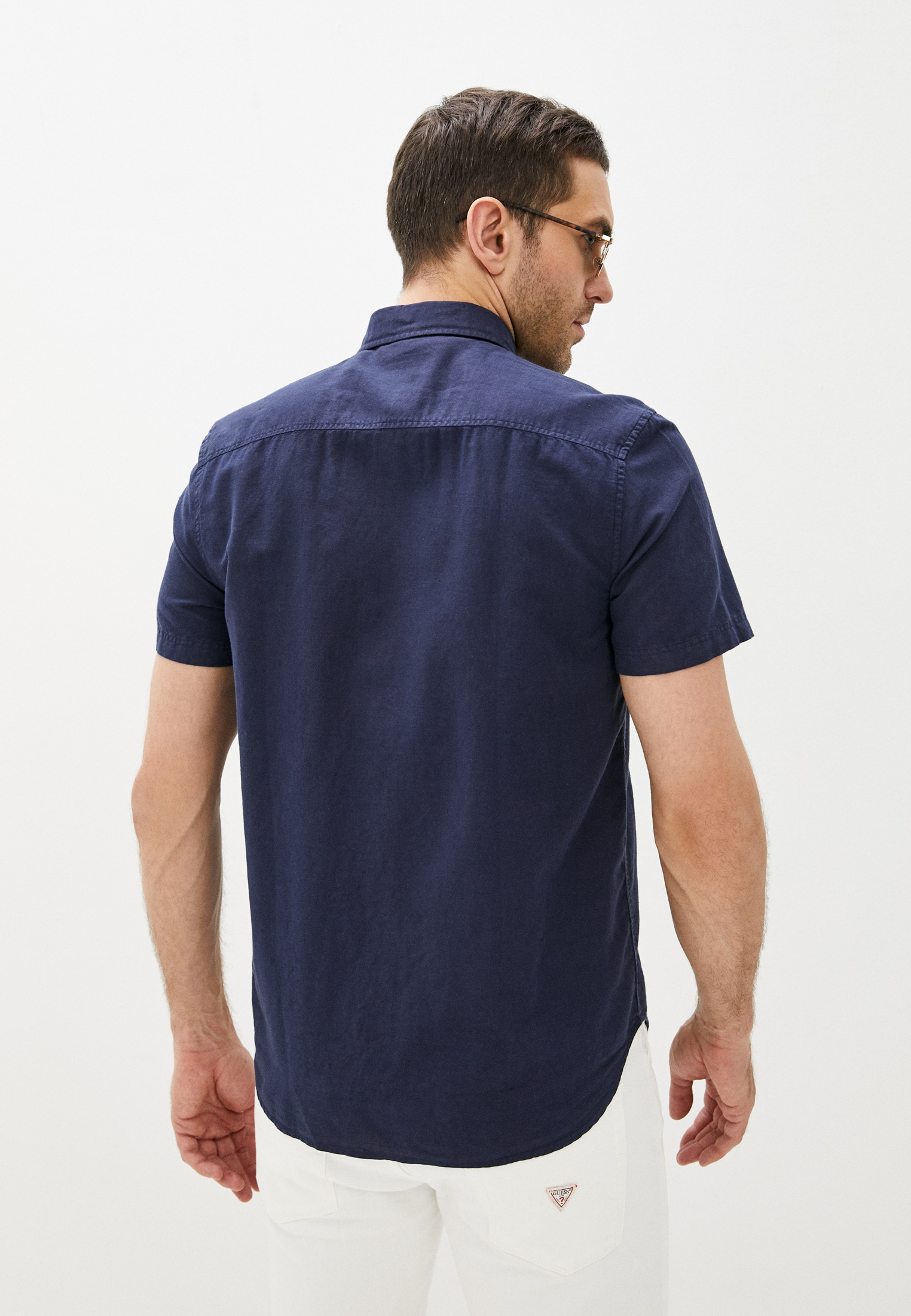 Рубашка с длинным рукавом Guess Jeans M1GH26 WDU11: изображение 3