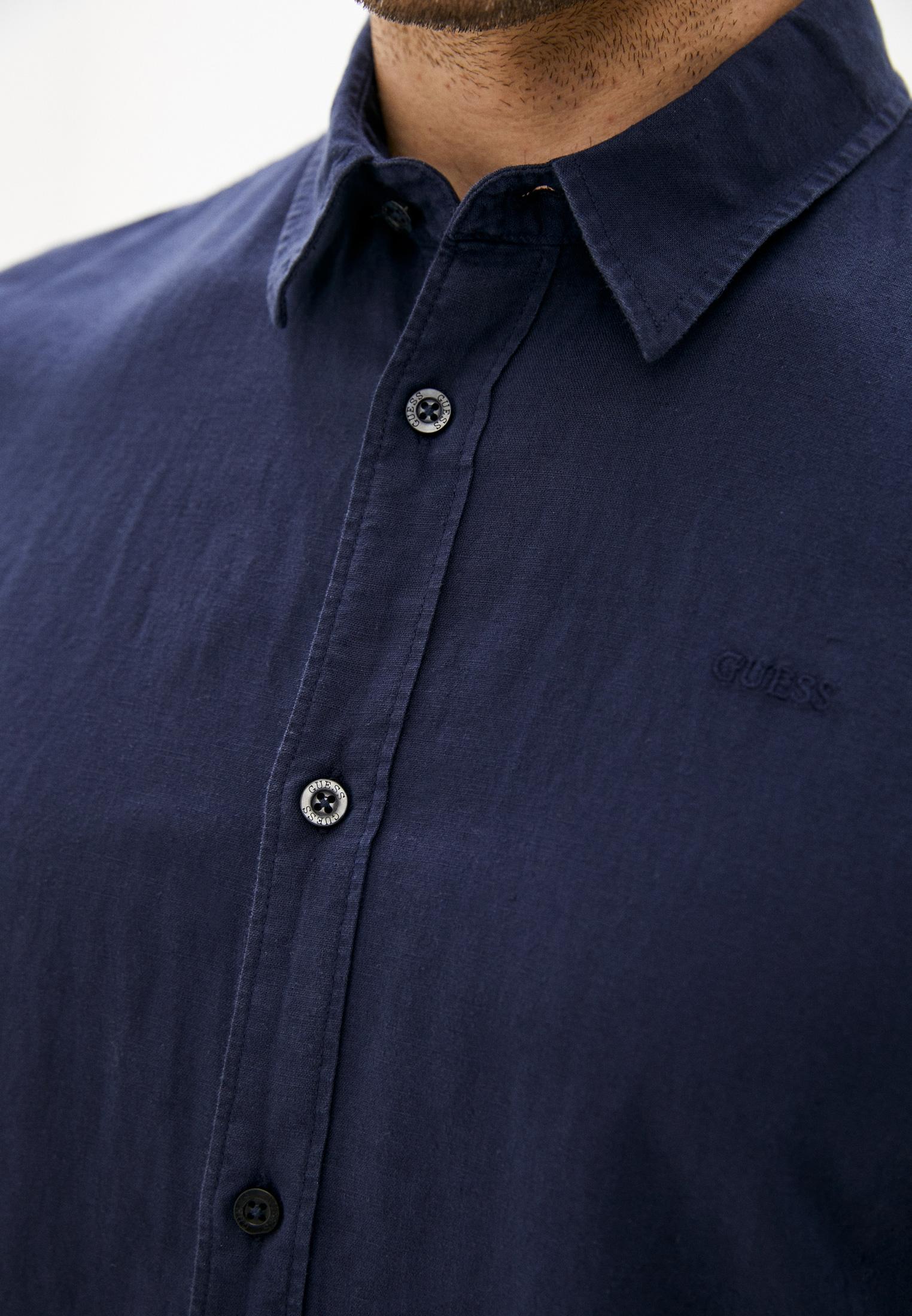 Рубашка с длинным рукавом Guess Jeans M1GH26 WDU11: изображение 4