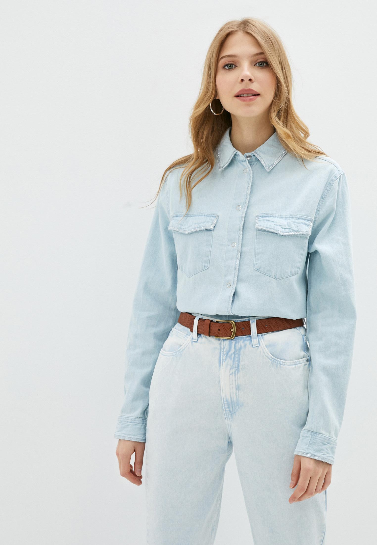 Женские джинсовые рубашки Guess Jeans Рубашка джинсовая Guess Jeans