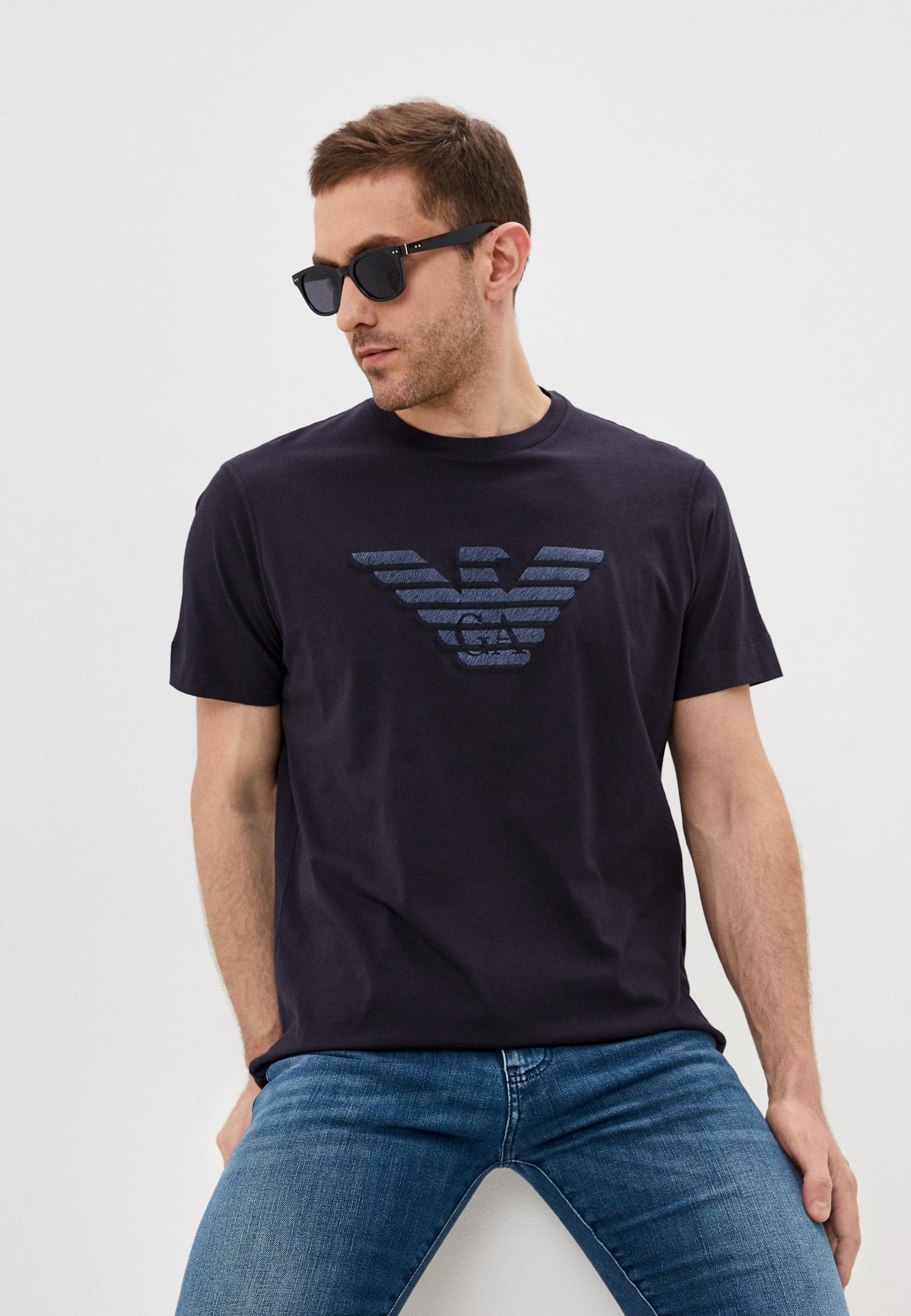 Мужская футболка Emporio Armani (Эмпорио Армани) 3K1TC31JULZ