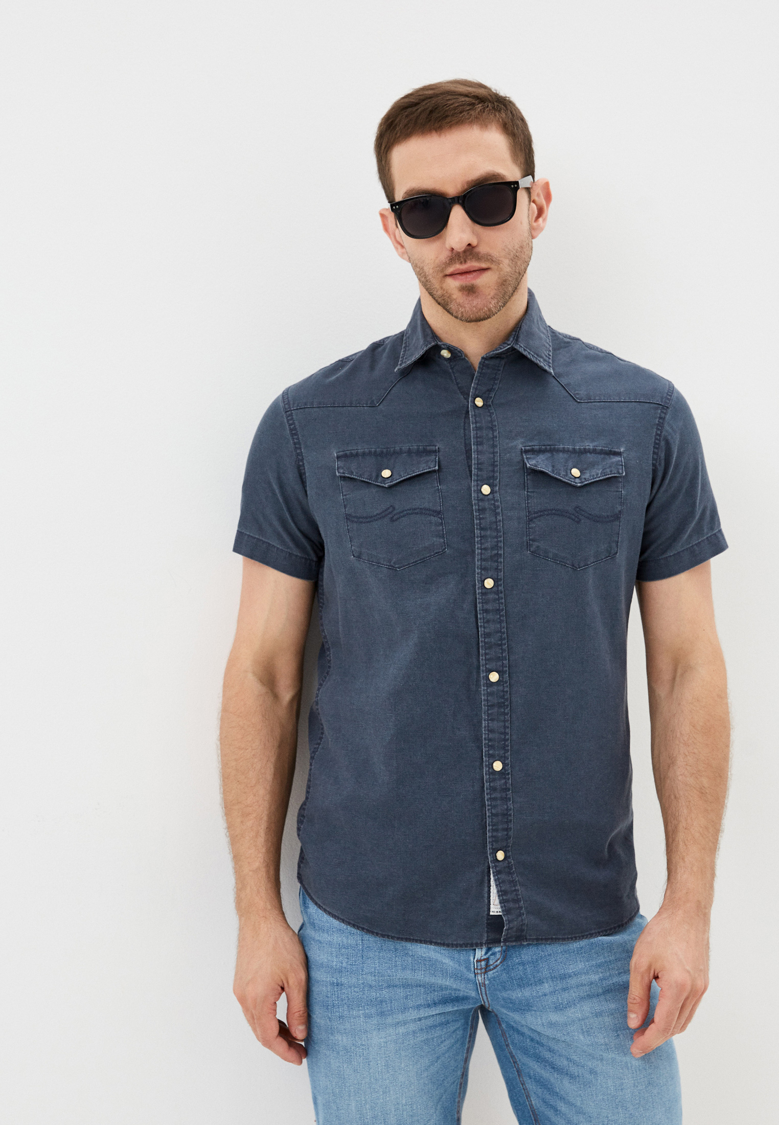 Рубашка с длинным рукавом Jack & Jones (Джек Энд Джонс) 12183234