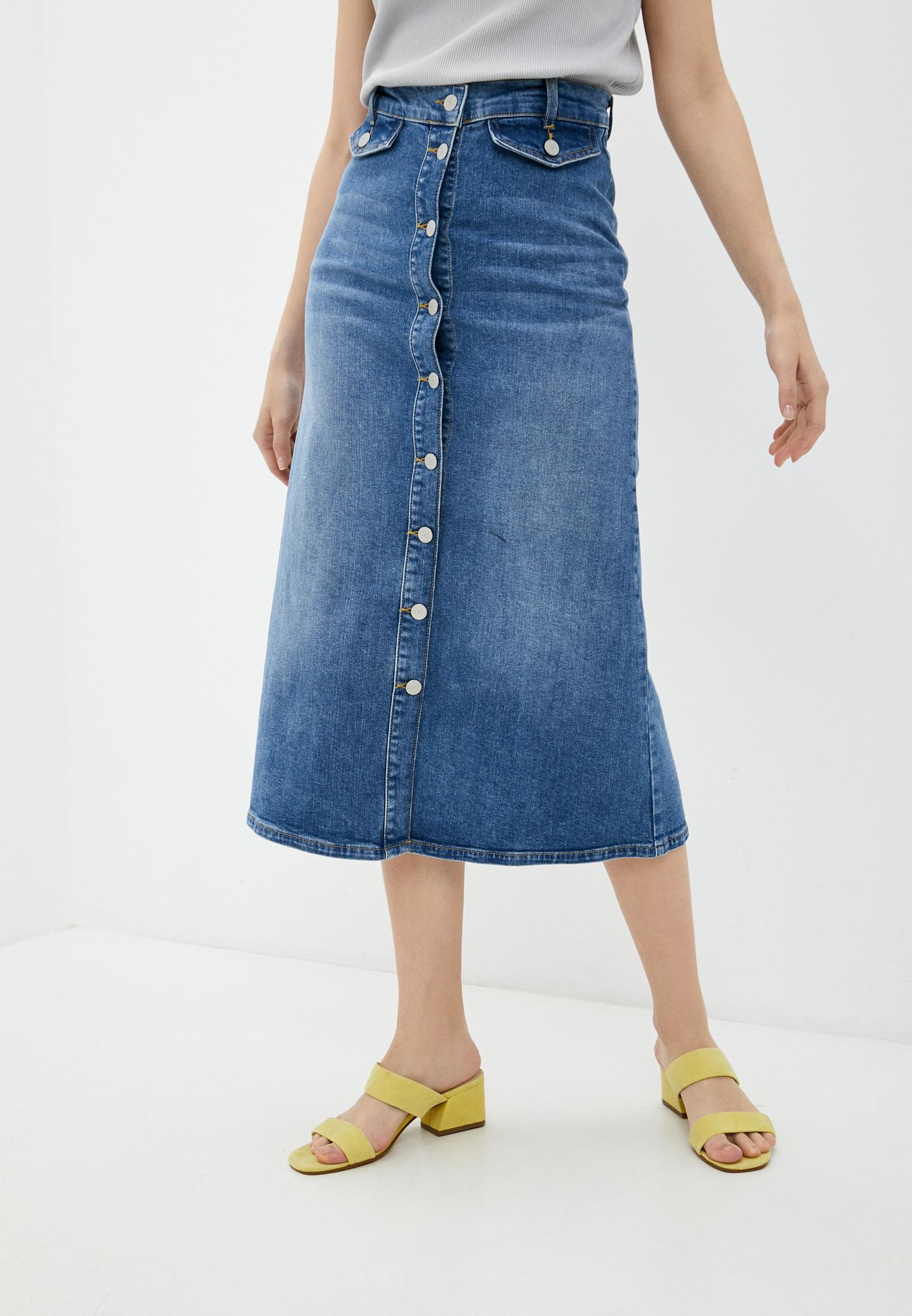 Джинсовая юбка Selected Femme 16078030