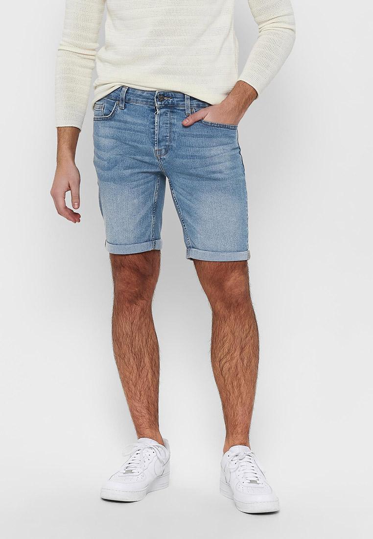 Мужские джинсовые шорты Only & Sons (Онли Энд Санс) 22018254