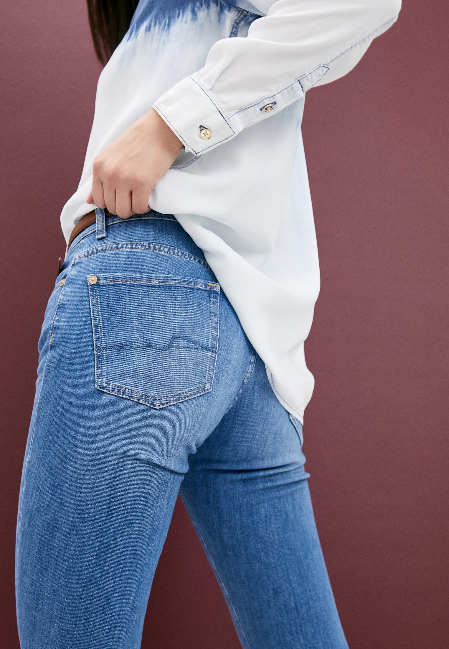 Зауженные джинсы 7 For All Mankind (7 Фо Олл Мэнкайнд) JSVYR51TRT: изображение 2