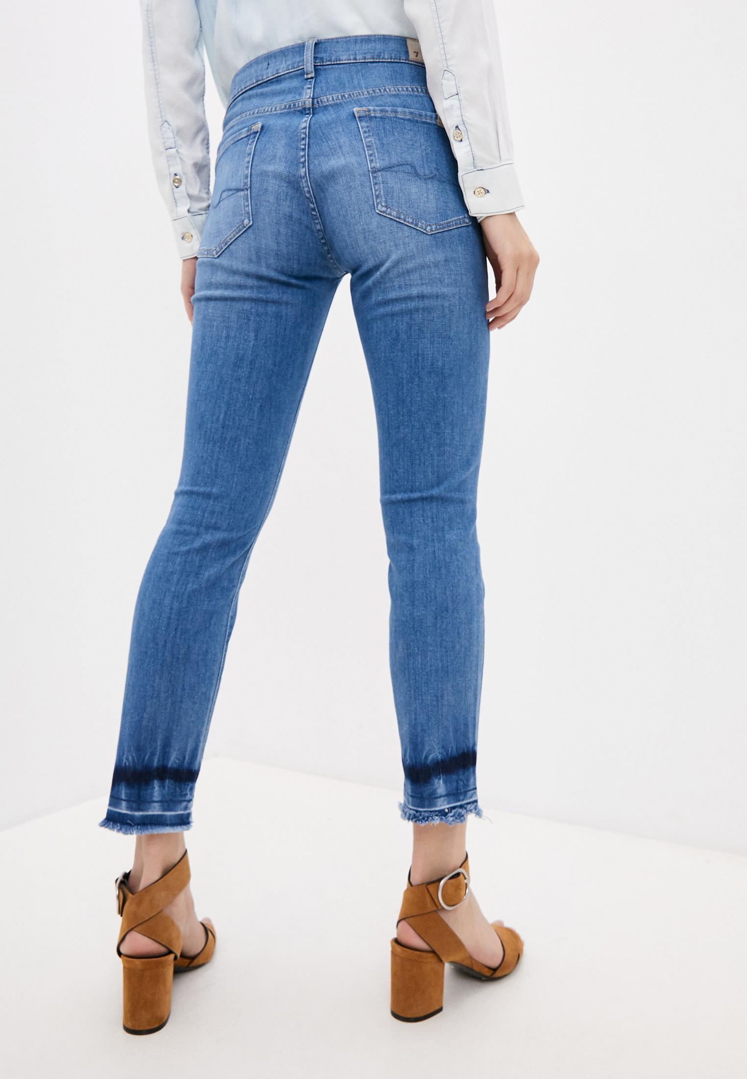 Зауженные джинсы 7 For All Mankind (7 Фо Олл Мэнкайнд) JSVYR51TRT: изображение 4