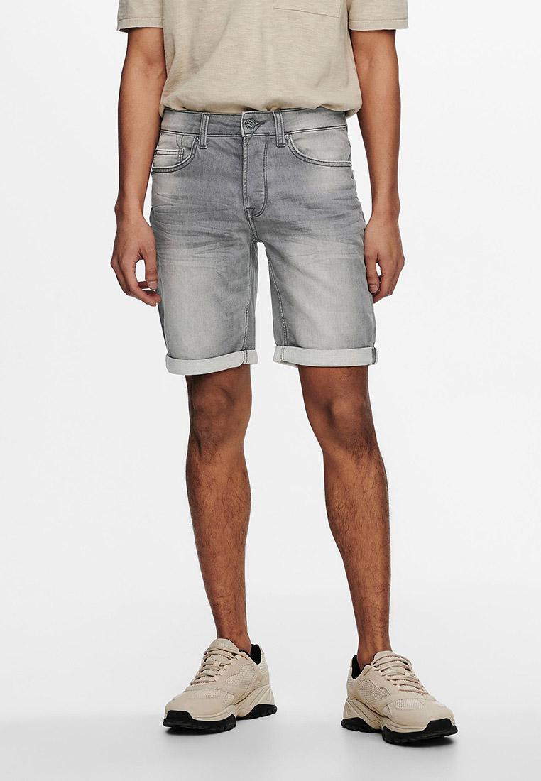 Мужские джинсовые шорты Only & Sons (Онли Энд Санс) 22018583