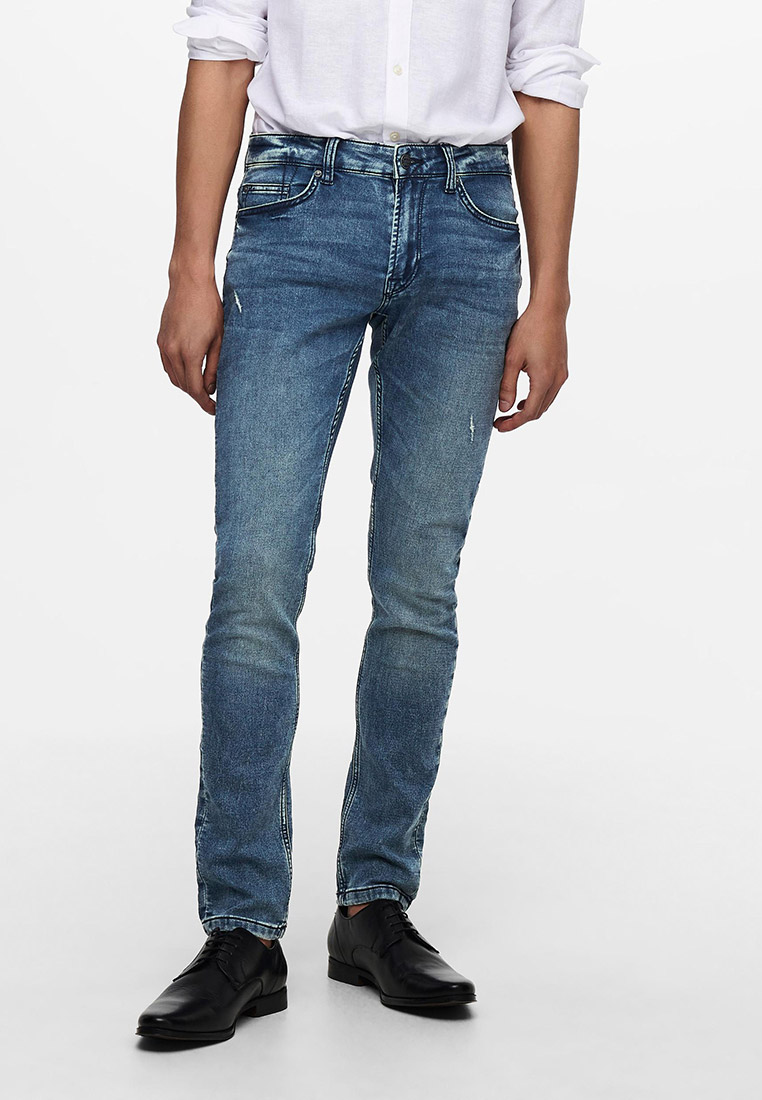 Зауженные джинсы Only & Sons (Онли Энд Санс) 22019107