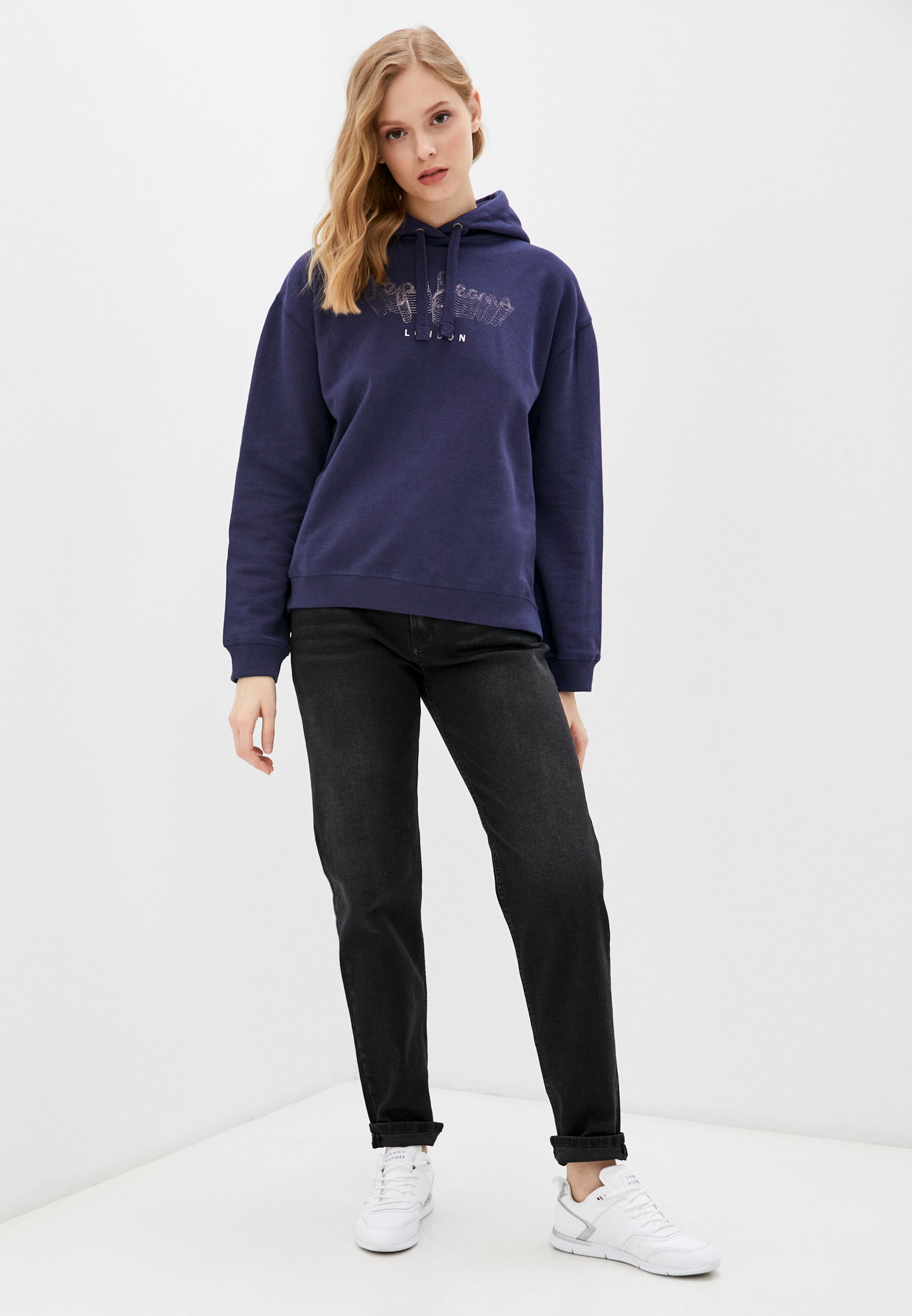 Женские худи Pepe Jeans (Пепе Джинс) PL581068: изображение 2