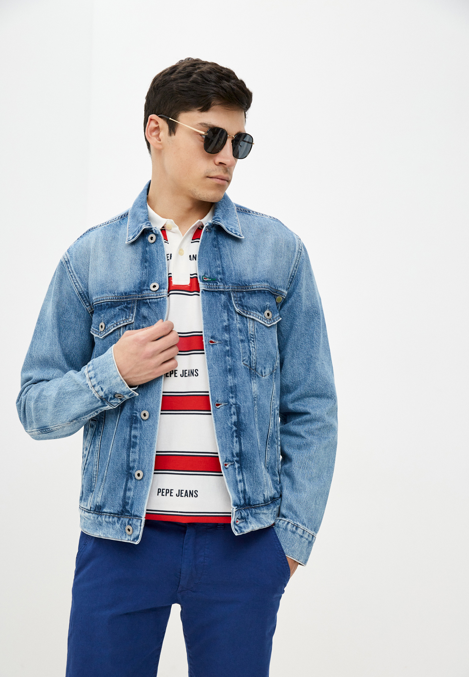 Джинсовая куртка Pepe Jeans (Пепе Джинс) Куртка джинсовая Pepe Jeans