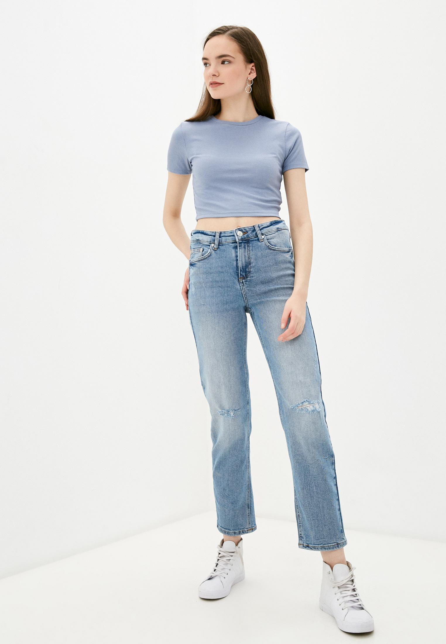 Зауженные джинсы b.young 20809694: изображение 2