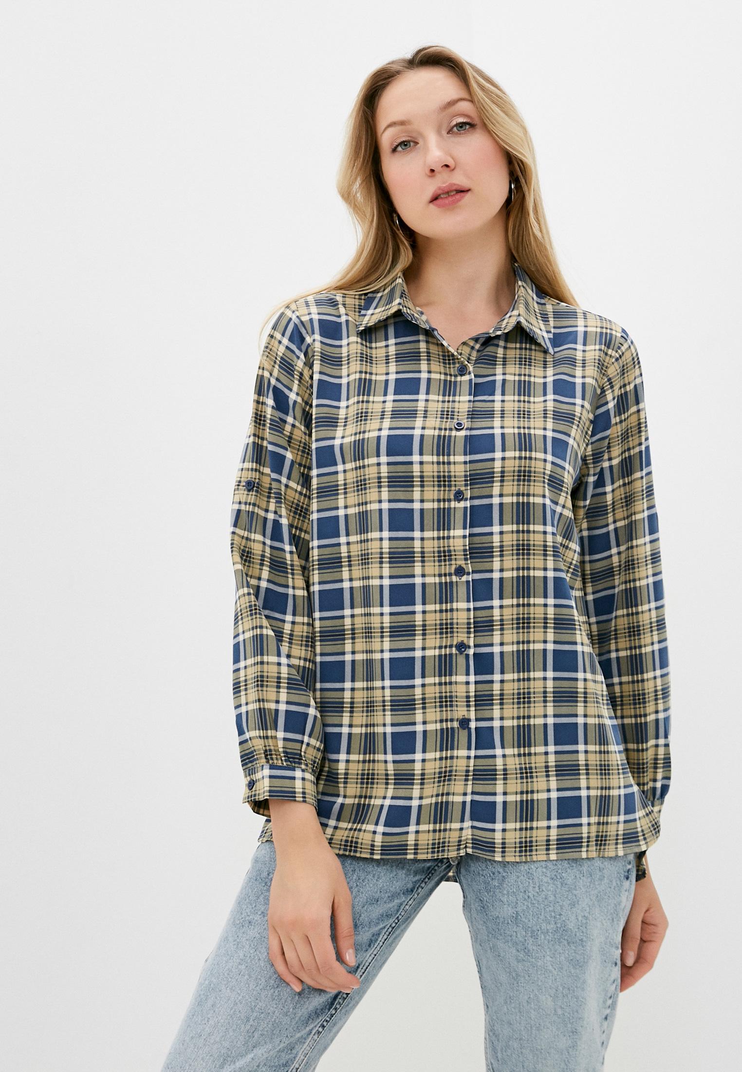 Женские рубашки с длинным рукавом Moki 10657