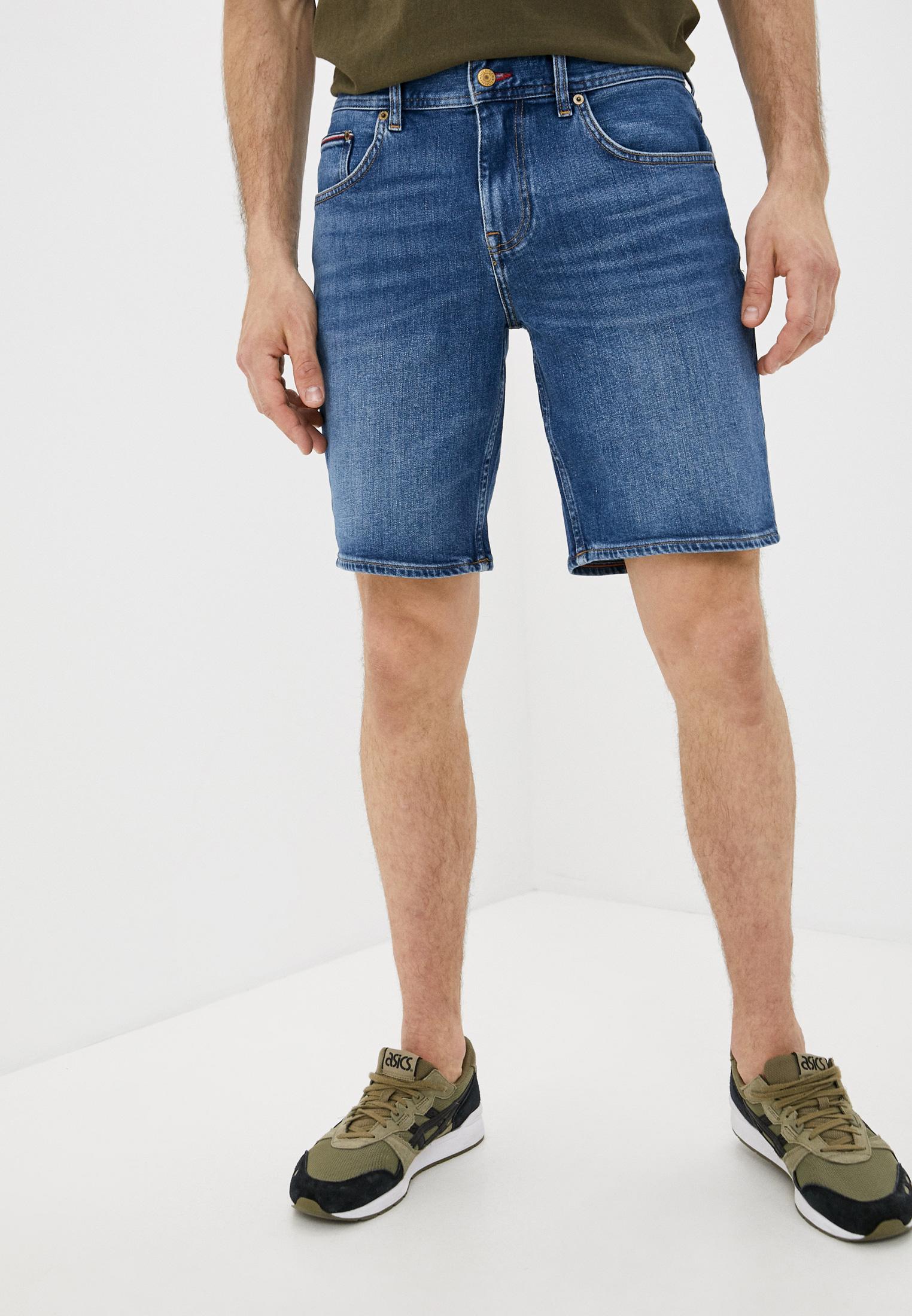 Мужские джинсовые шорты Tommy Hilfiger (Томми Хилфигер) MW0MW18035