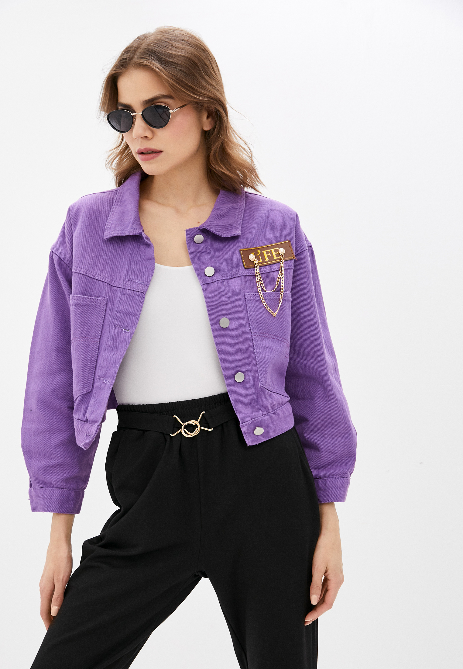 Джинсовая куртка Miss Gabby 1200-15: изображение 1