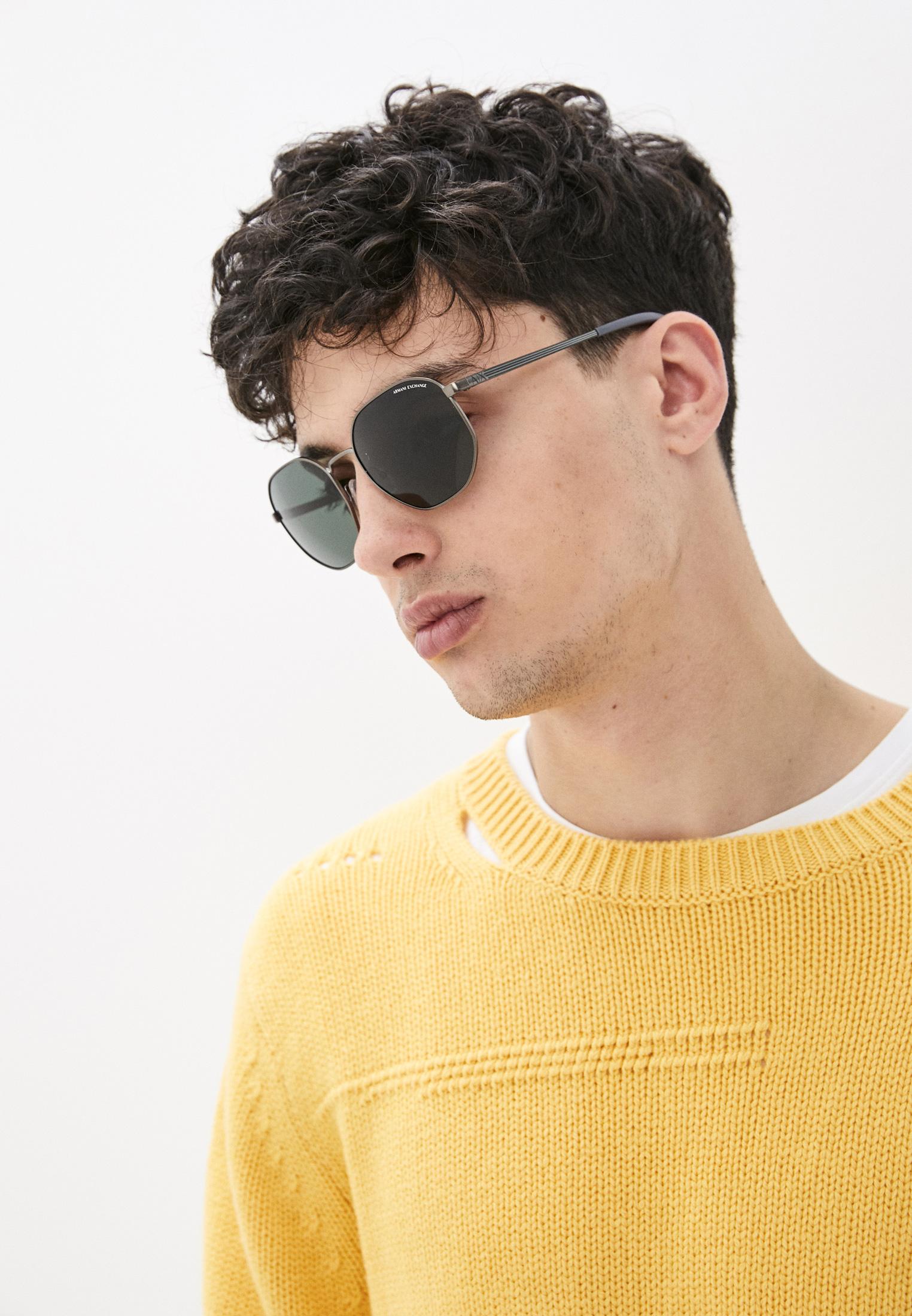 Мужские солнцезащитные очки Armani Exchange 0AX2036S: изображение 6