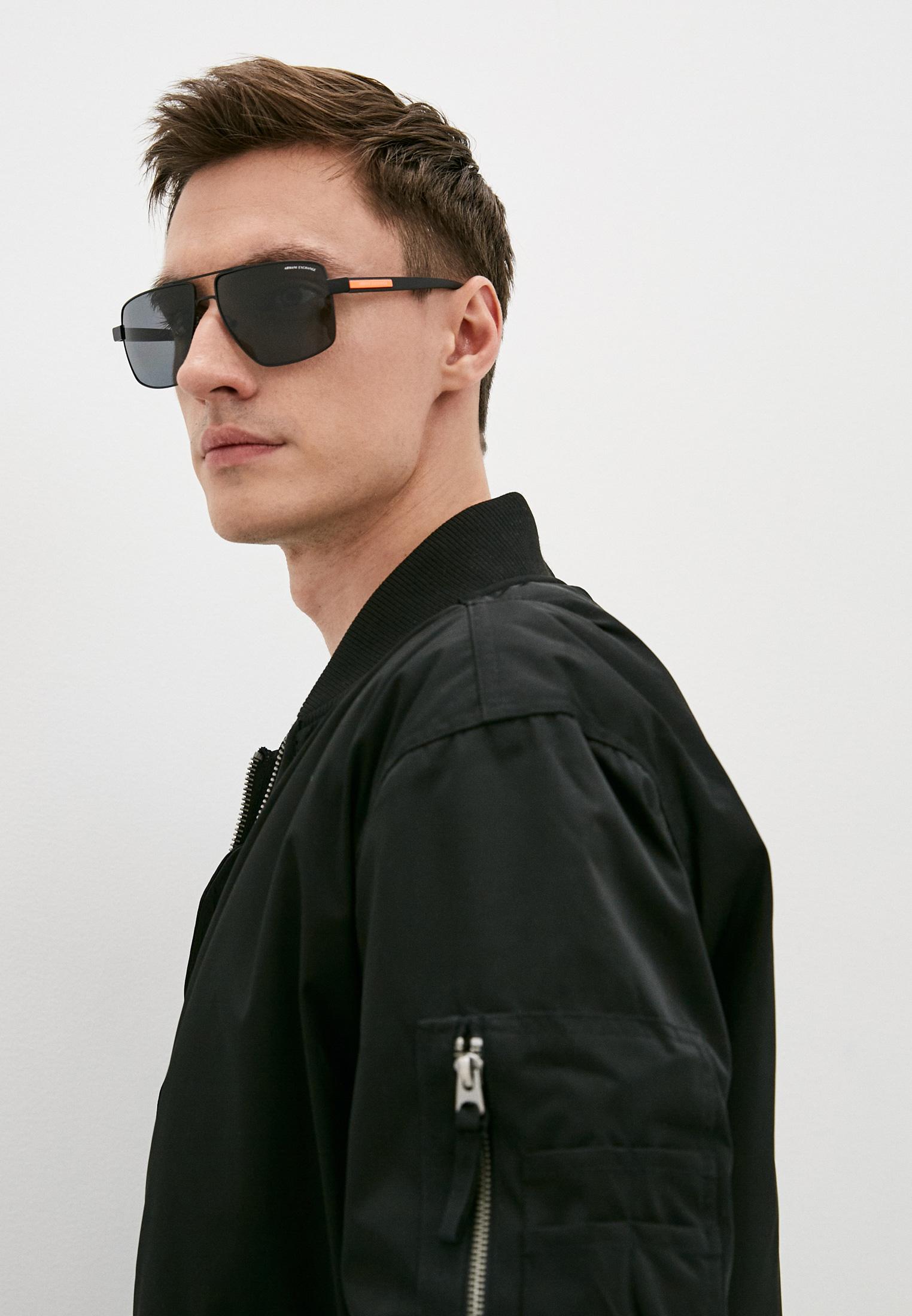 Мужские солнцезащитные очки Armani Exchange 0AX2037S: изображение 6