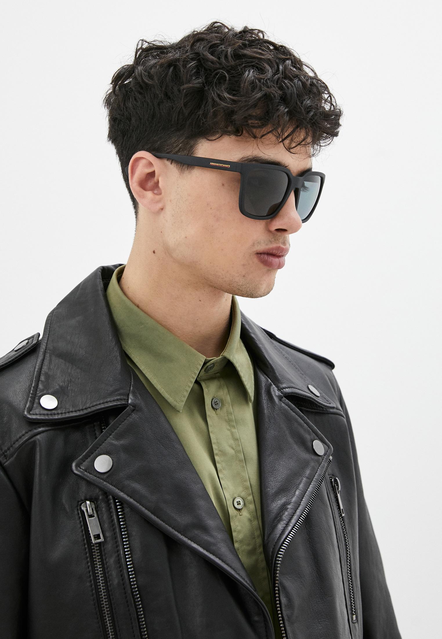 Мужские солнцезащитные очки Armani Exchange 0AX4108S: изображение 6