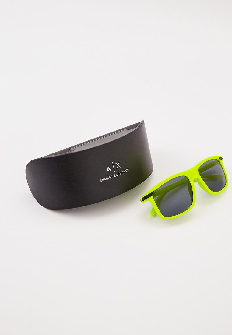 Мужские солнцезащитные очки Armani Exchange 0AX4110S: изображение 4
