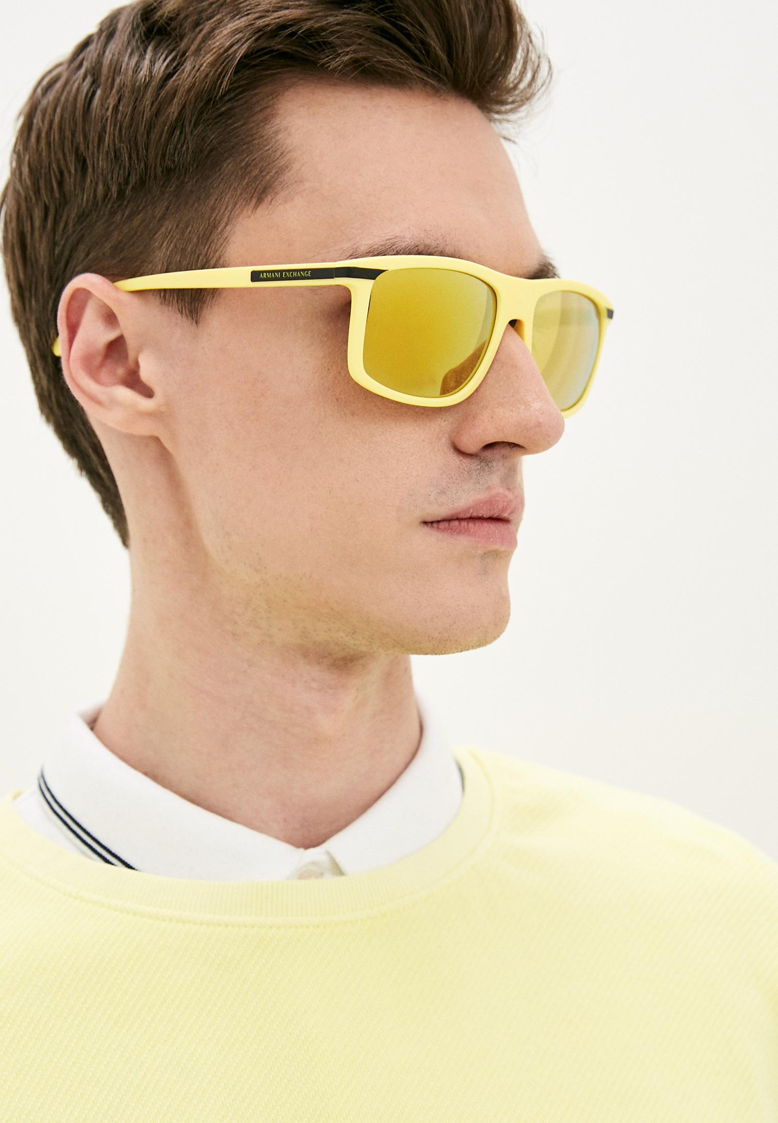 Мужские солнцезащитные очки Armani Exchange 0AX4110S: изображение 5