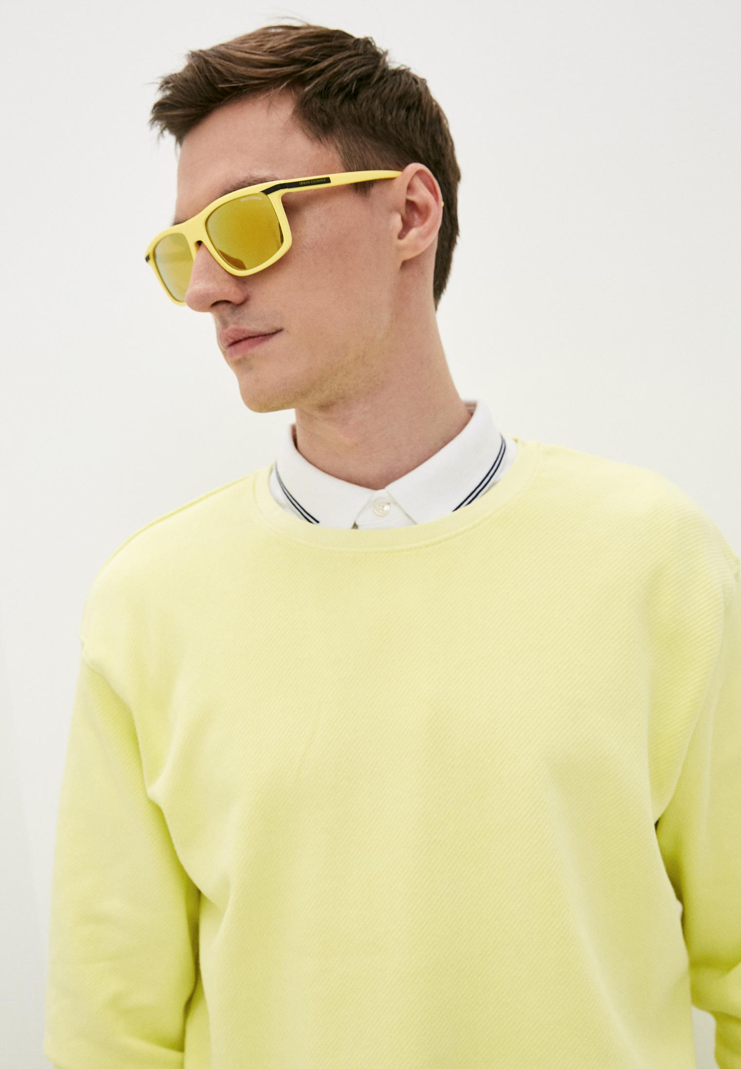 Мужские солнцезащитные очки Armani Exchange 0AX4110S: изображение 6