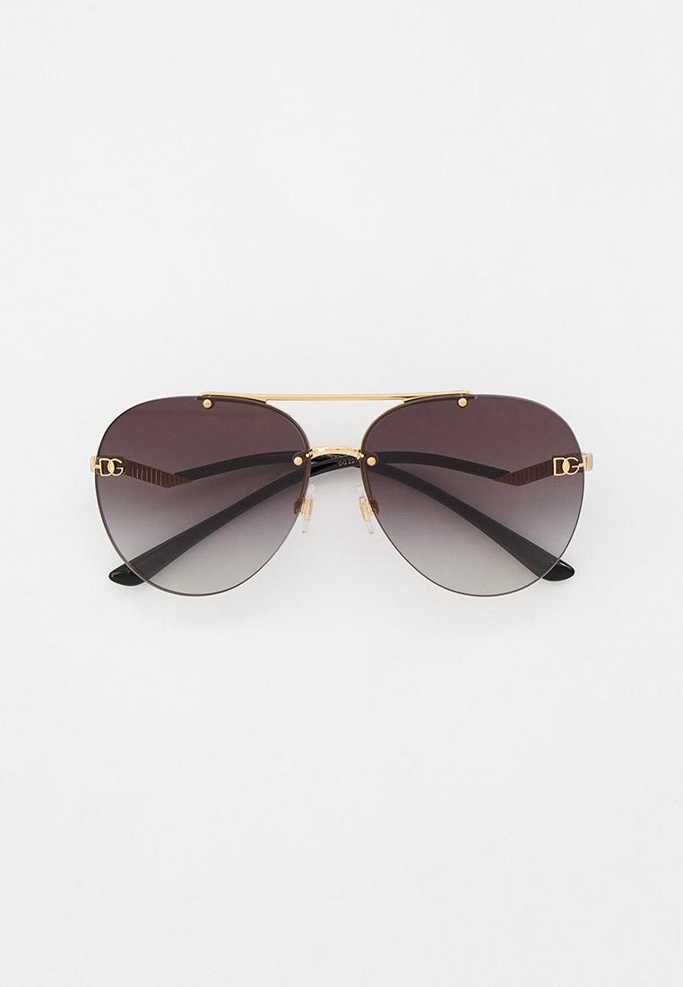 Женские солнцезащитные очки Dolce&Gabbana Очки солнцезащитные Dolce&Gabbana
