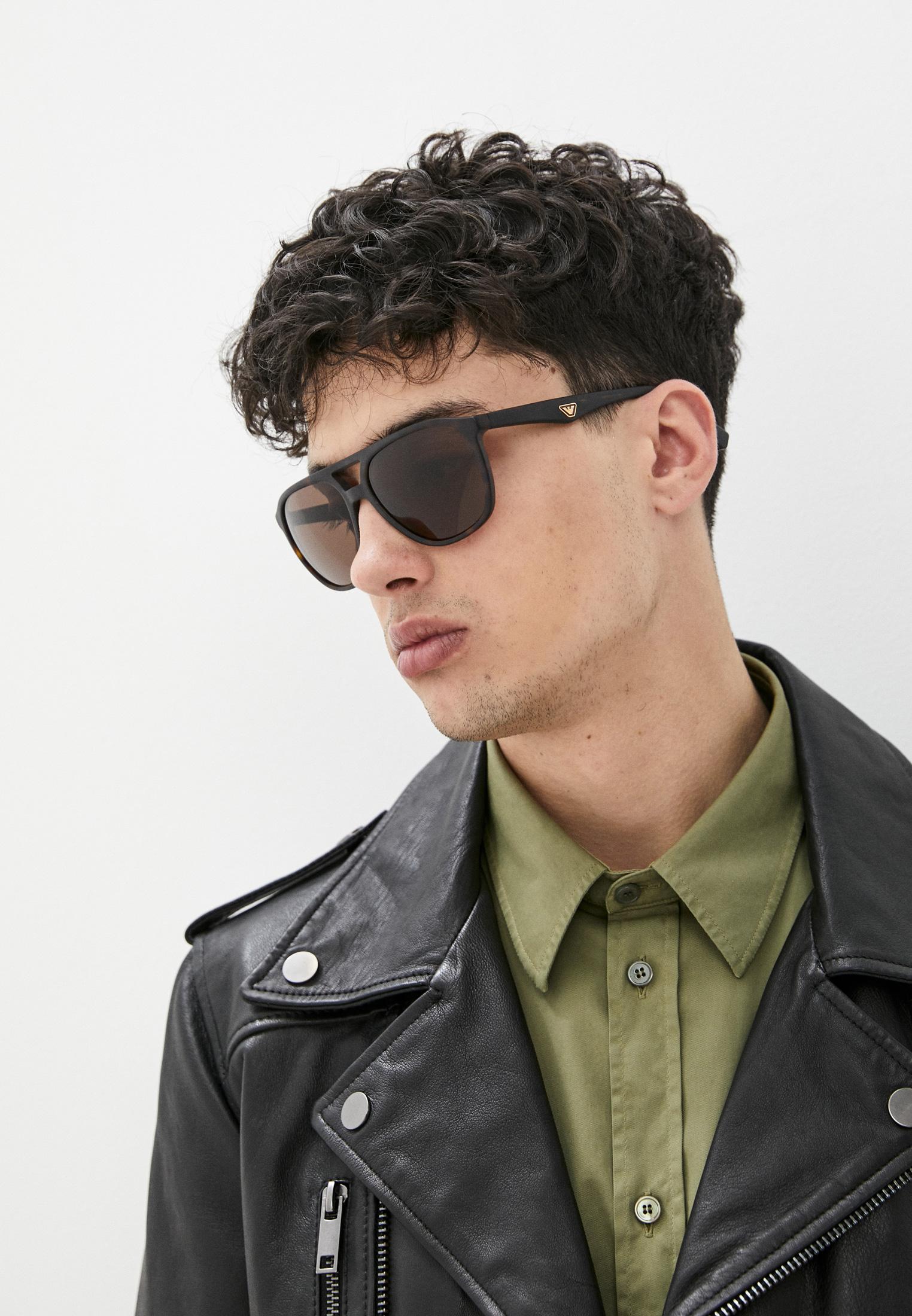 Мужские солнцезащитные очки Emporio Armani 0EA4156