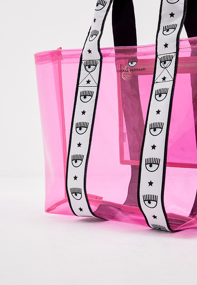 Пляжная сумка Chiara Ferragni Collection 21PE-CFBAG006: изображение 3