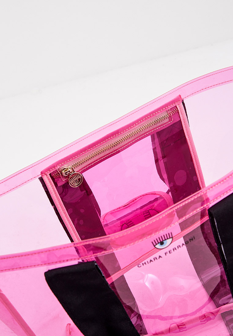 Пляжная сумка Chiara Ferragni Collection 21PE-CFBAG006: изображение 4