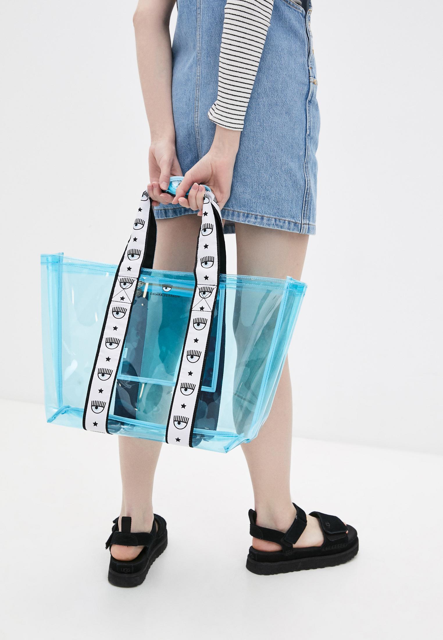 Пляжная сумка Chiara Ferragni Collection 21PE-CFBAG006: изображение 6