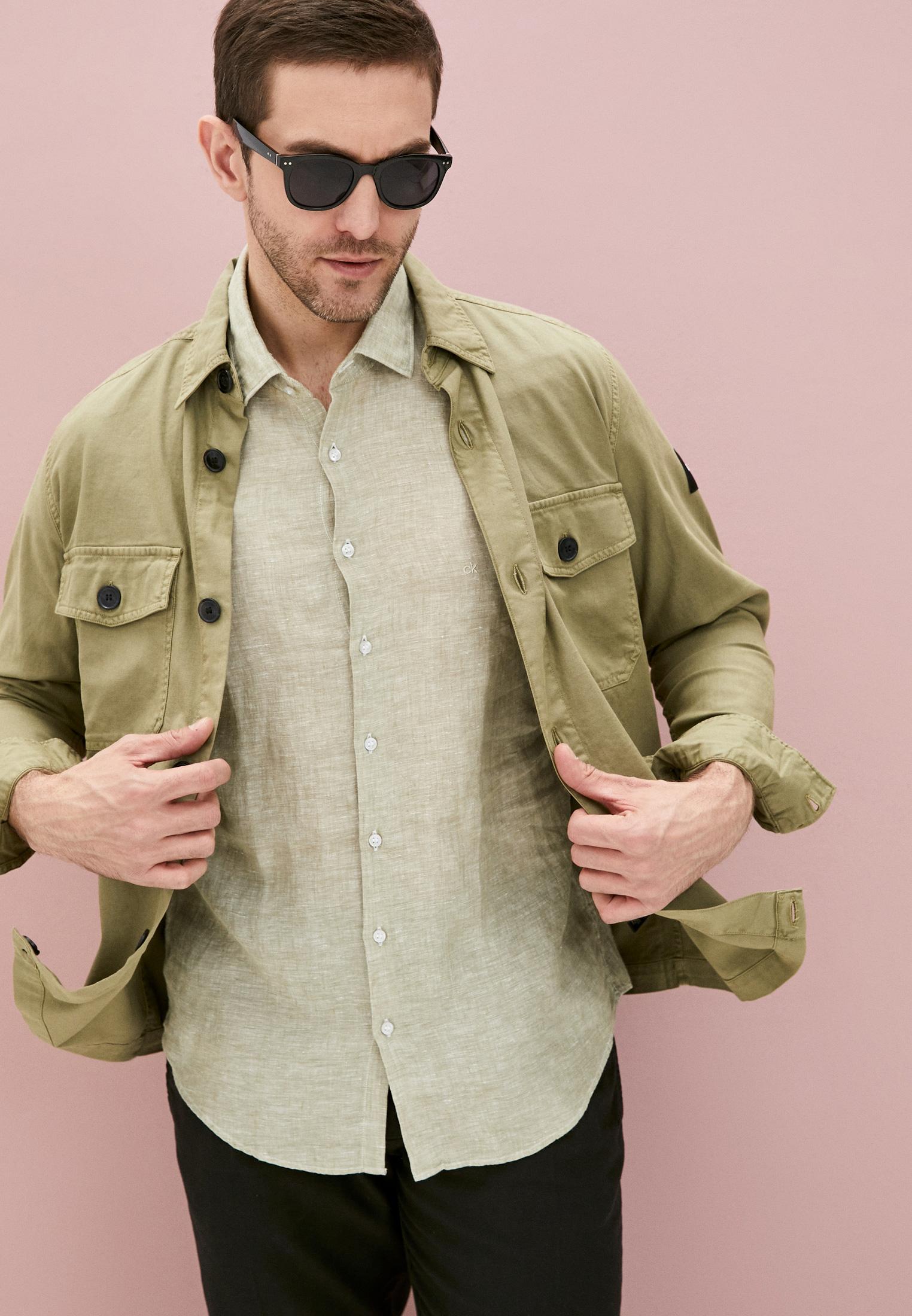 Рубашка с длинным рукавом Calvin Klein (Кельвин Кляйн) K10K107232: изображение 2