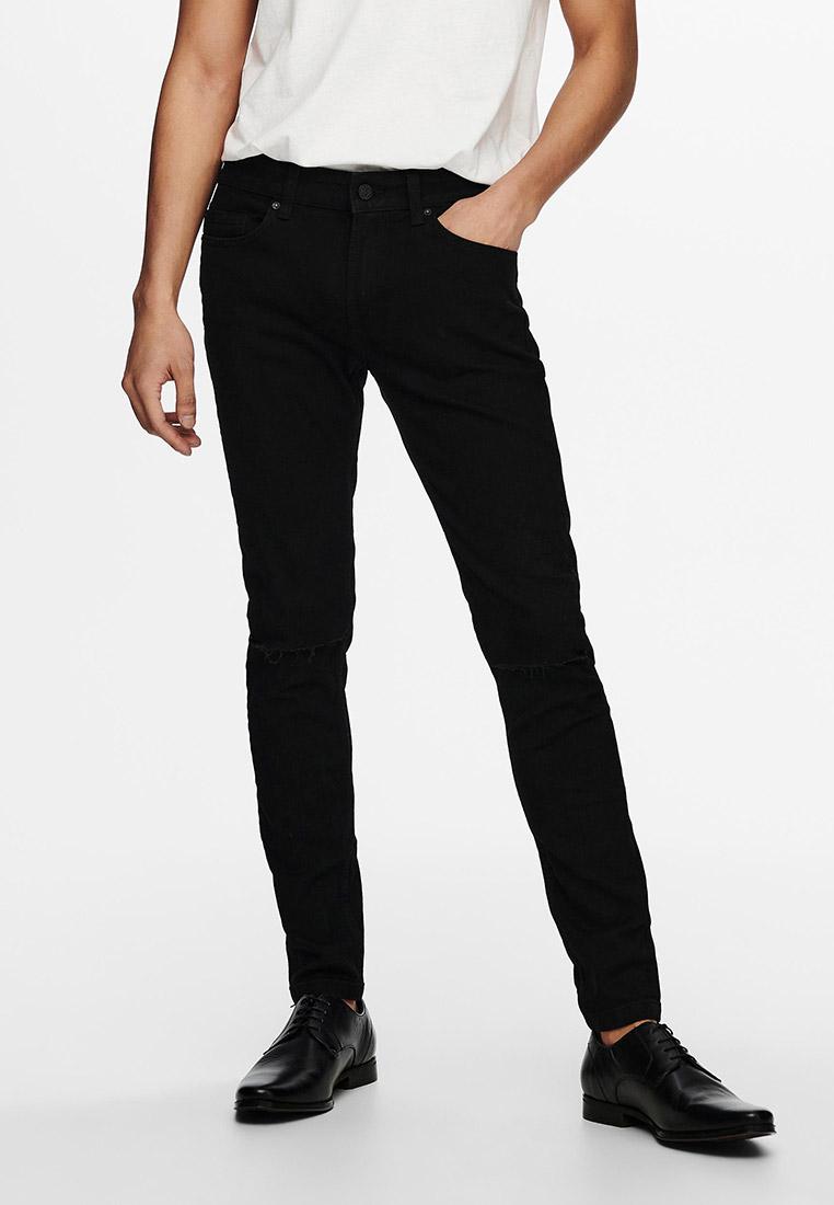 Зауженные джинсы Only & Sons (Онли Энд Санс) Джинсы Only & Sons