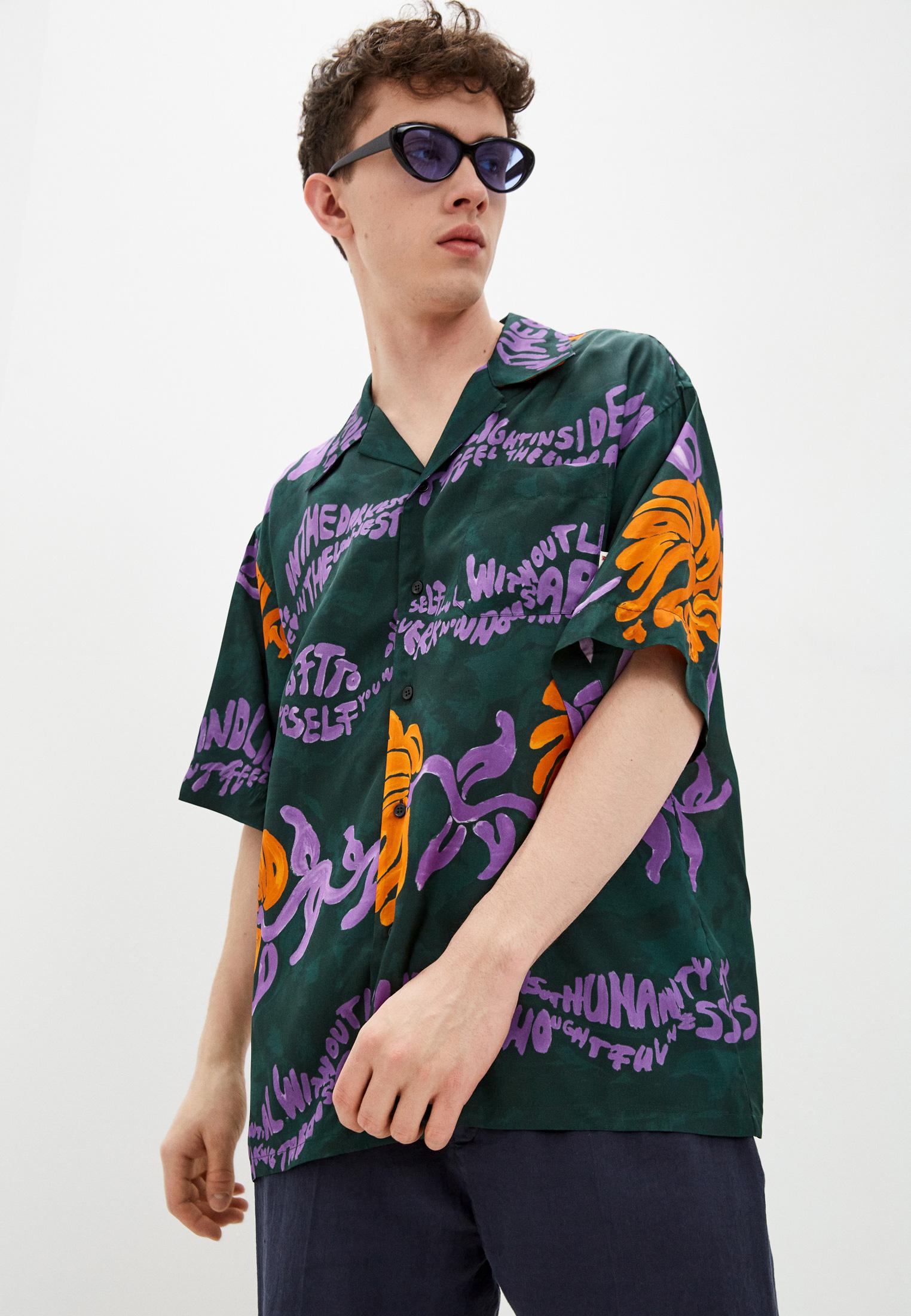 Рубашка с коротким рукавом MARNI Рубашка Marni