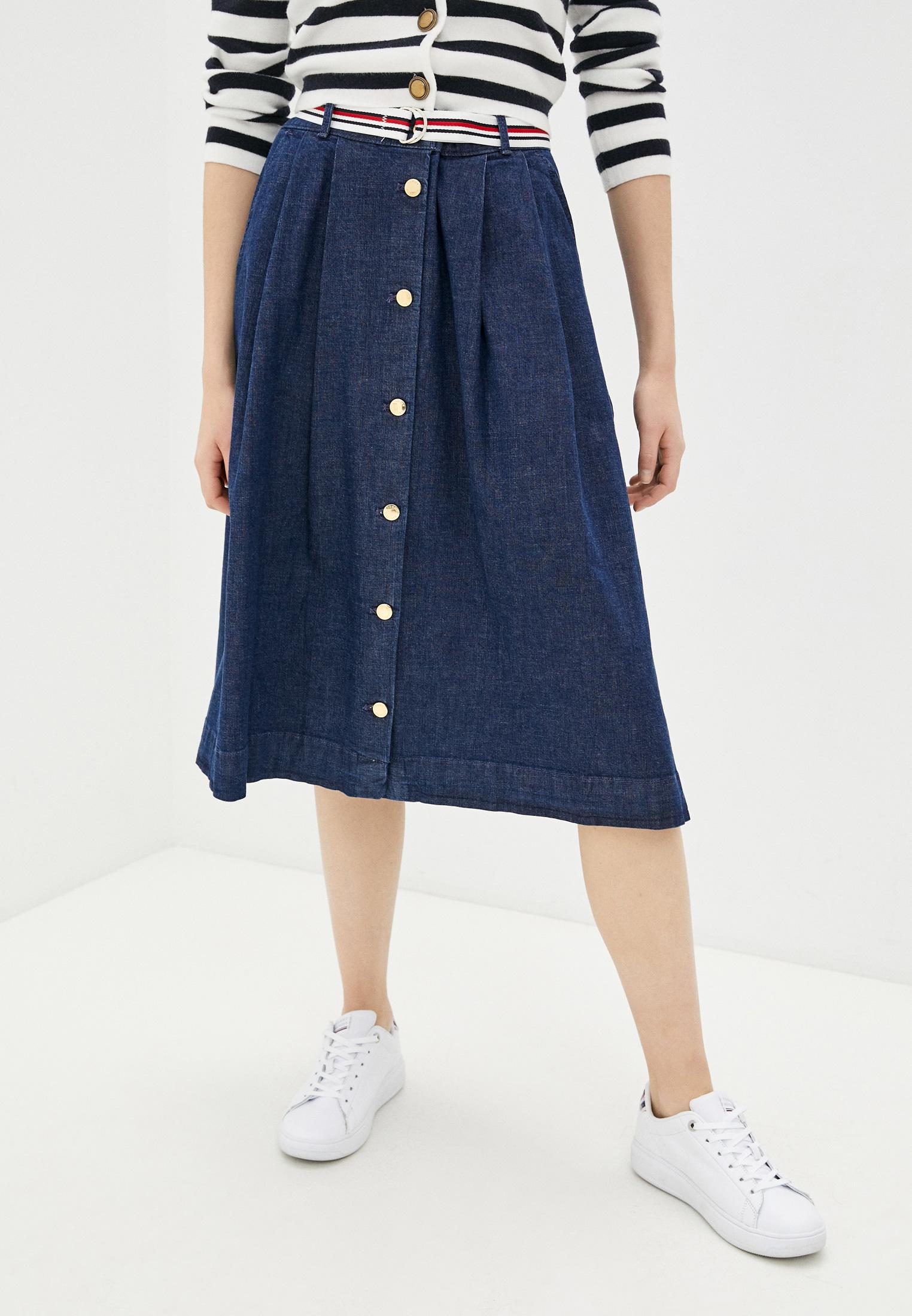 Джинсовая юбка Tommy Hilfiger (Томми Хилфигер) WW0WW30312
