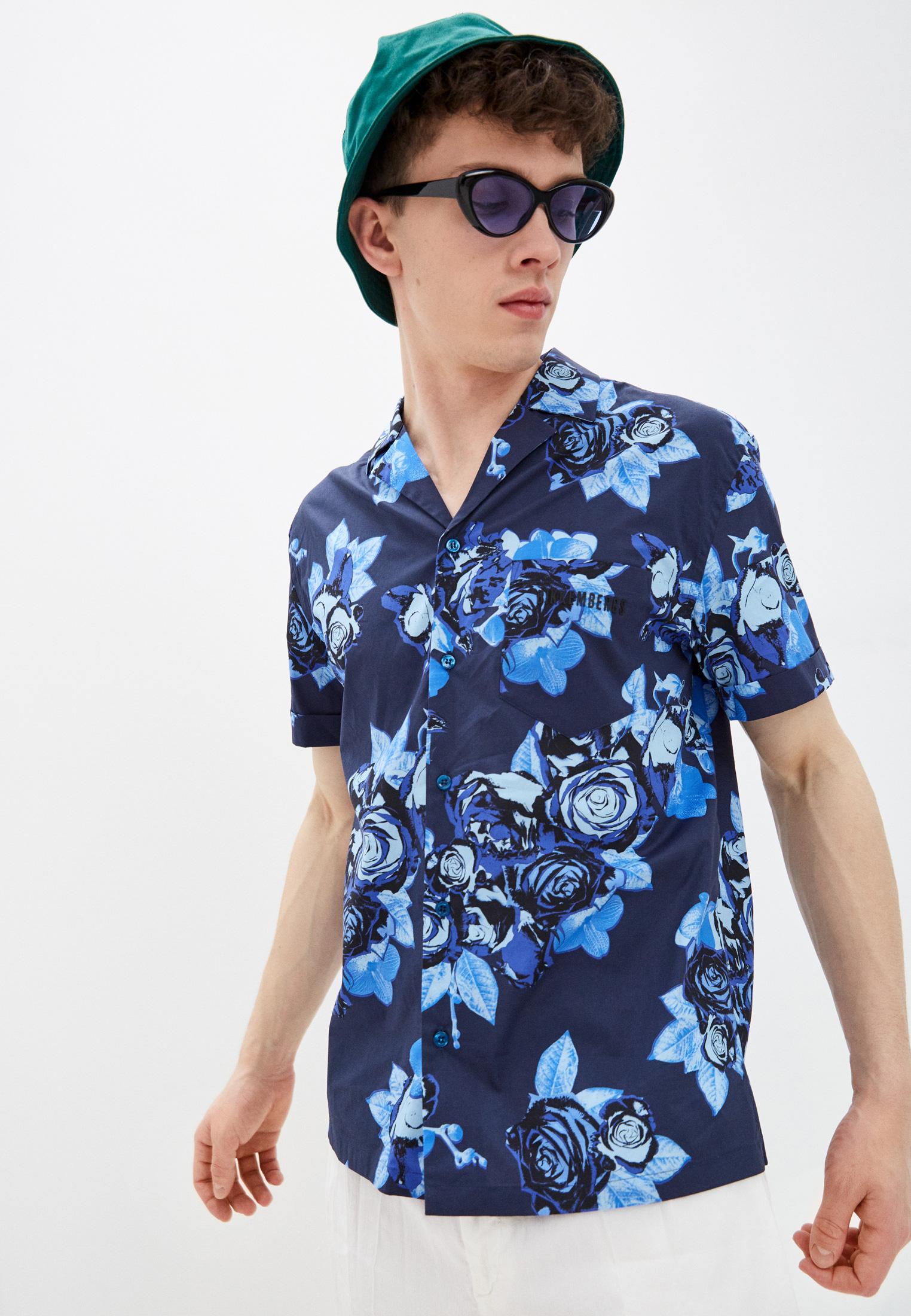 Рубашка с коротким рукавом Bikkembergs (Биккембергс) C C 043 01 S 3391