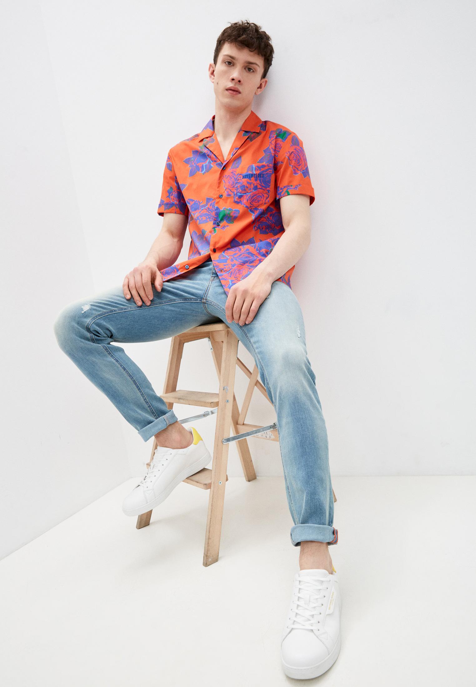 Мужские зауженные джинсы Bikkembergs (Биккембергс) C Q 101 00 S 3181: изображение 3