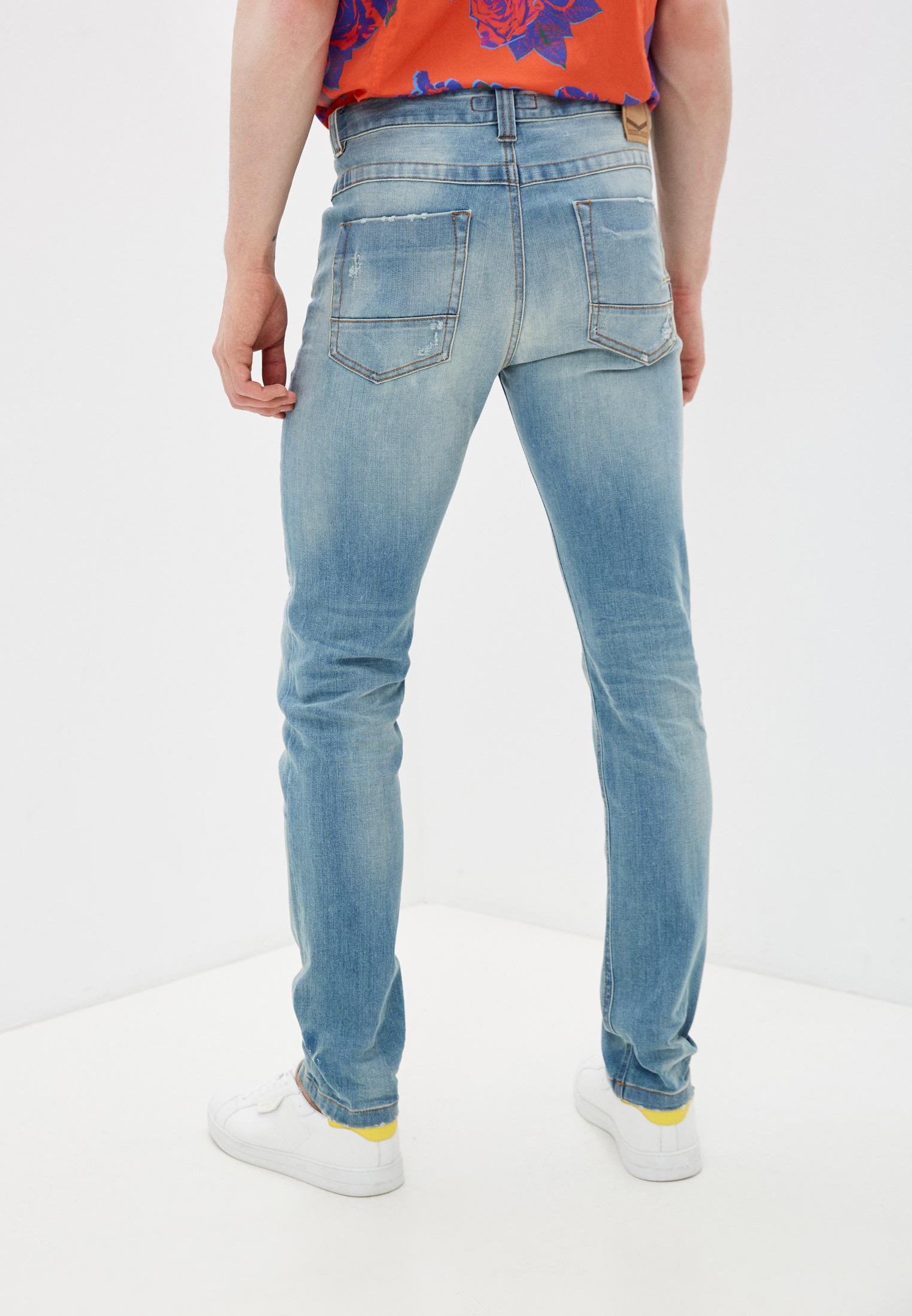 Мужские зауженные джинсы Bikkembergs (Биккембергс) C Q 101 00 S 3181: изображение 4