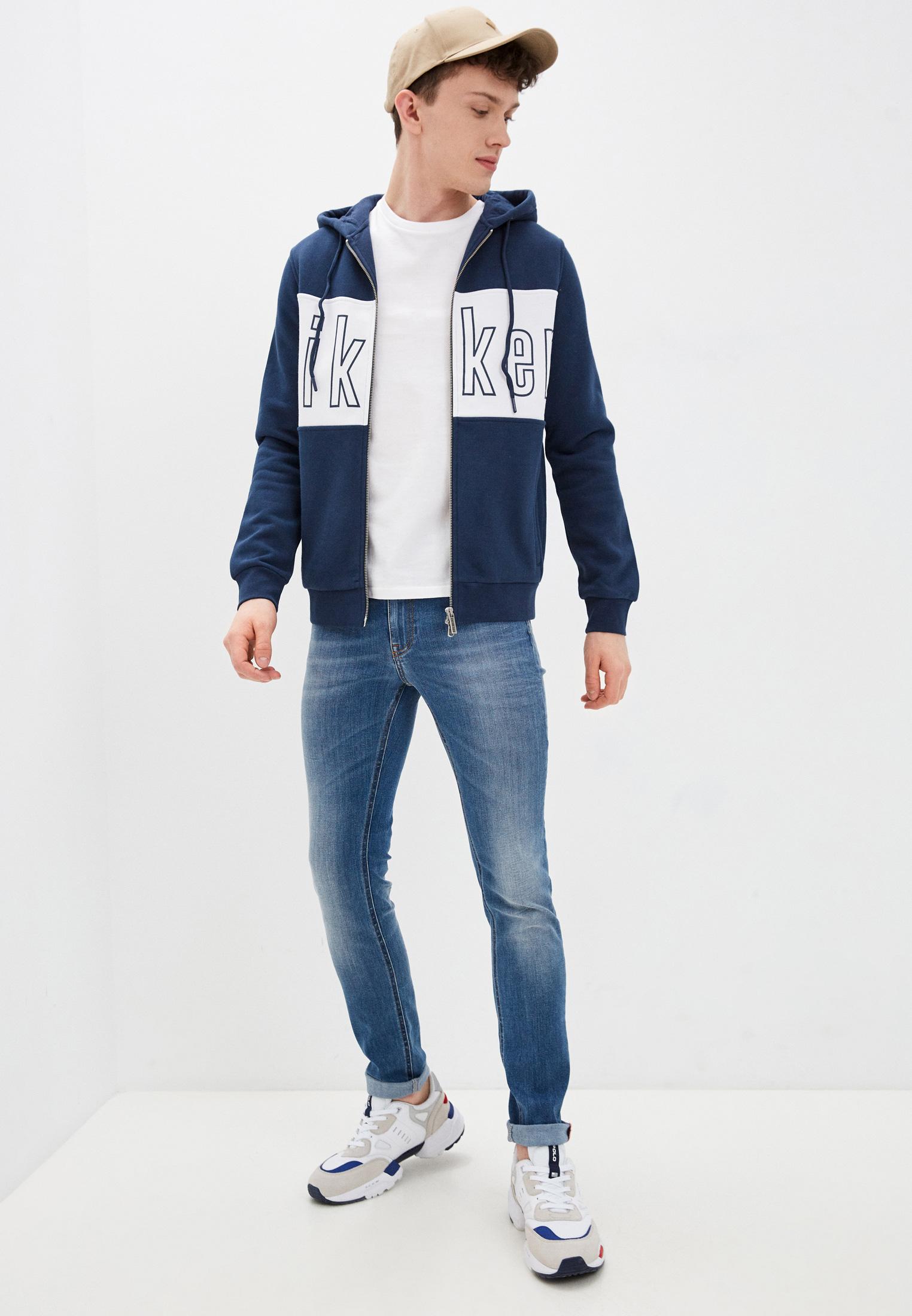 Мужские зауженные джинсы Bikkembergs (Биккембергс) C Q 101 00 S 3181: изображение 8