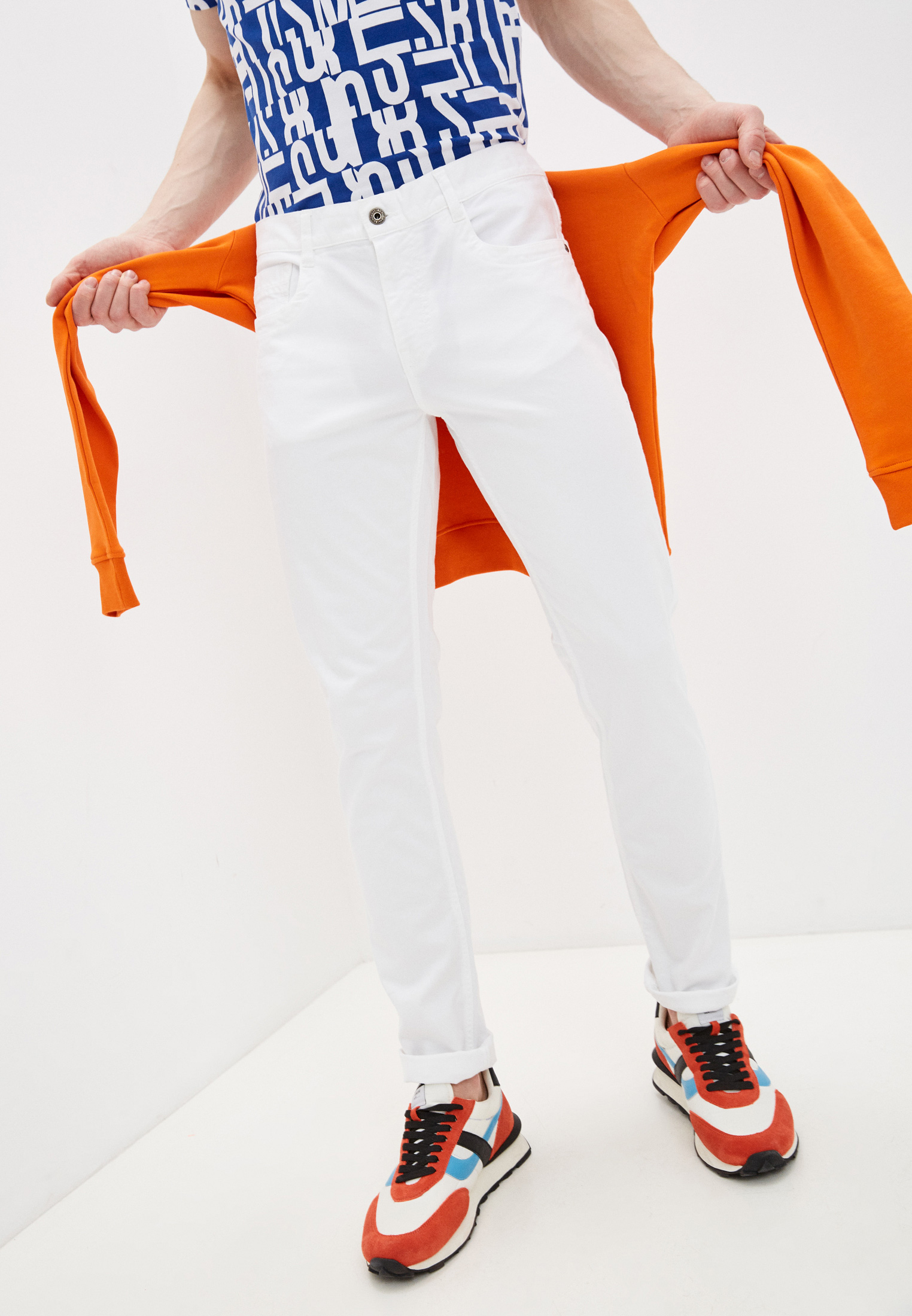 Мужские повседневные брюки Bikkembergs (Биккембергс) C Q 101 00 S 3279
