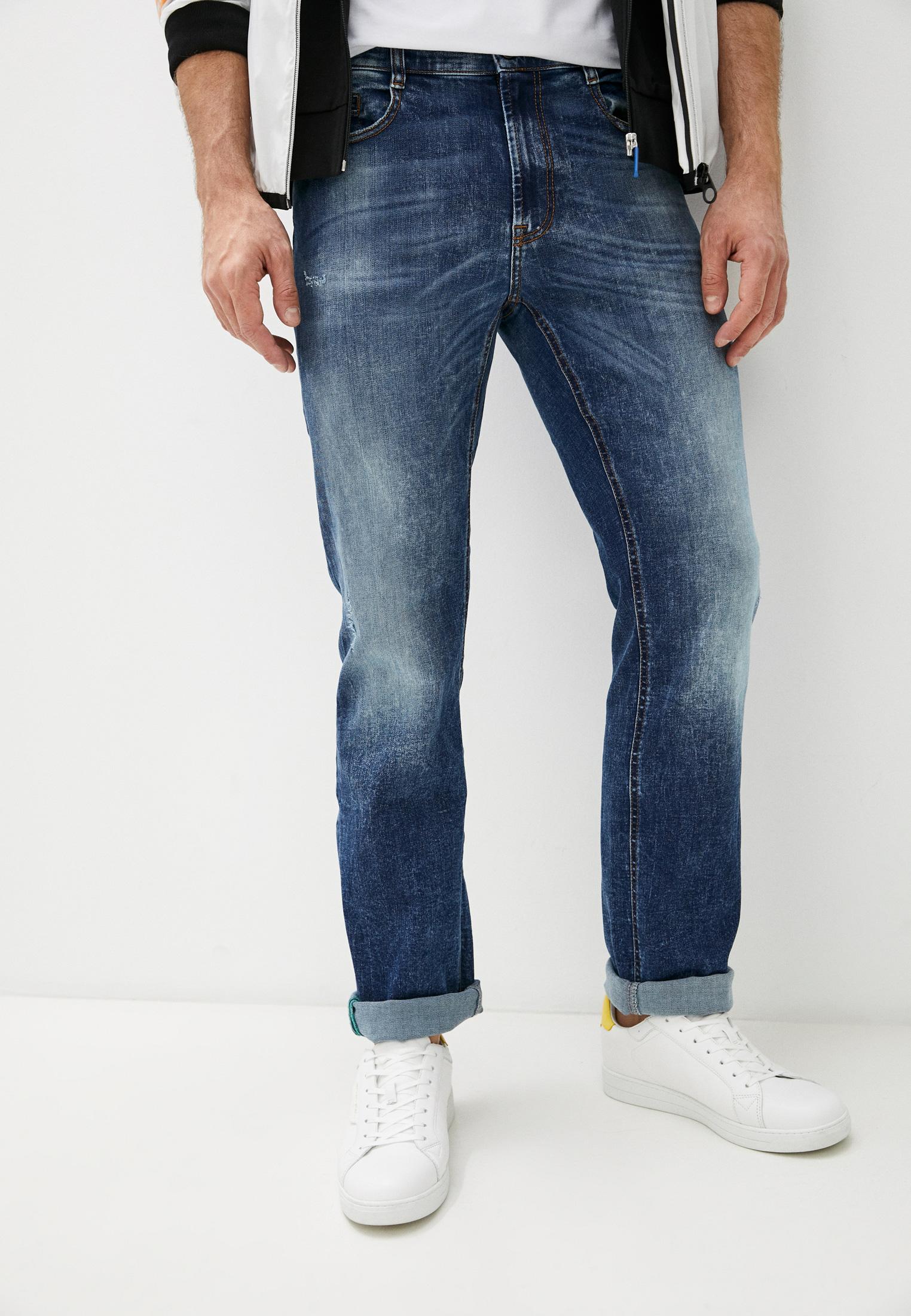 Мужские прямые джинсы Bikkembergs (Биккембергс) C Q 102 00 S 3181: изображение 6