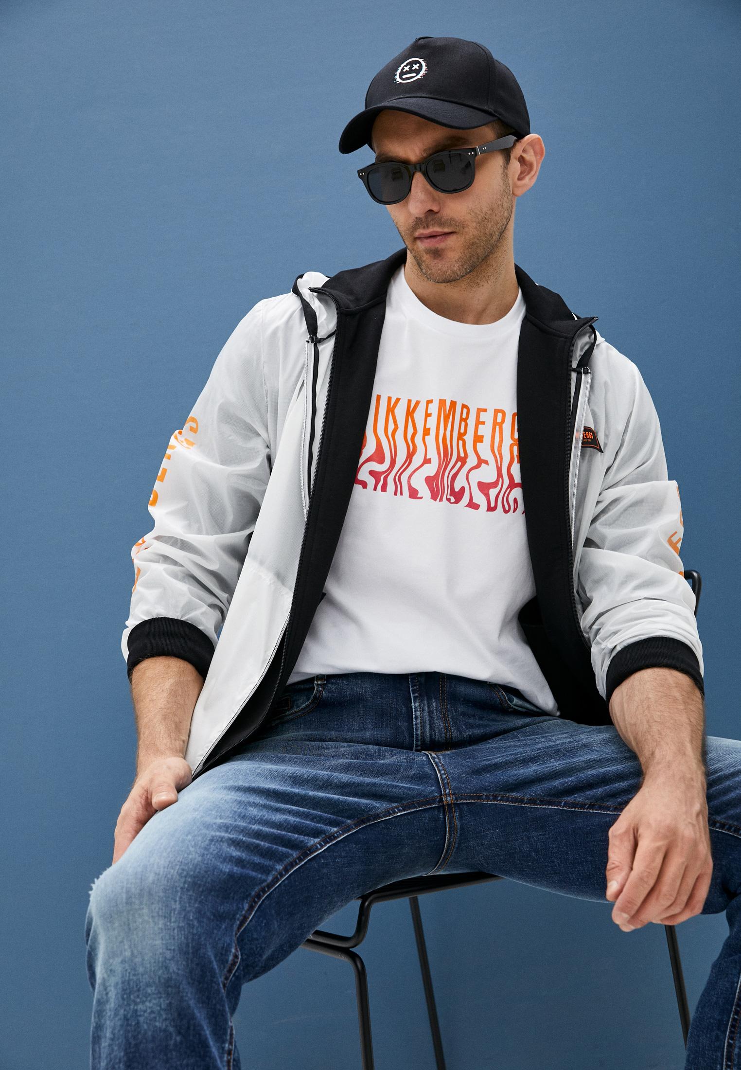 Мужские прямые джинсы Bikkembergs (Биккембергс) C Q 102 00 S 3181: изображение 7