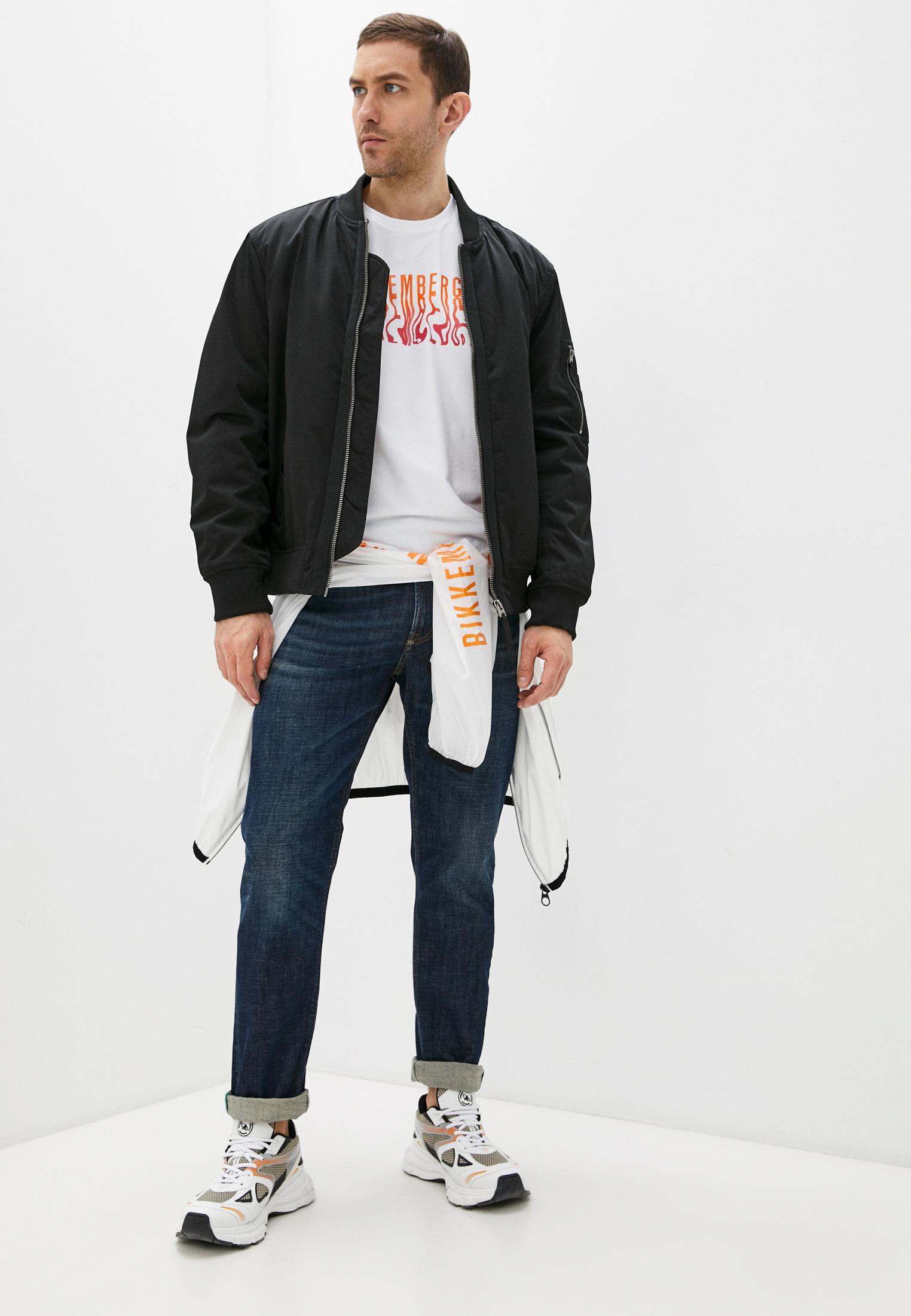 Мужские прямые джинсы Bikkembergs (Биккембергс) C Q 102 03 S 3393: изображение 3